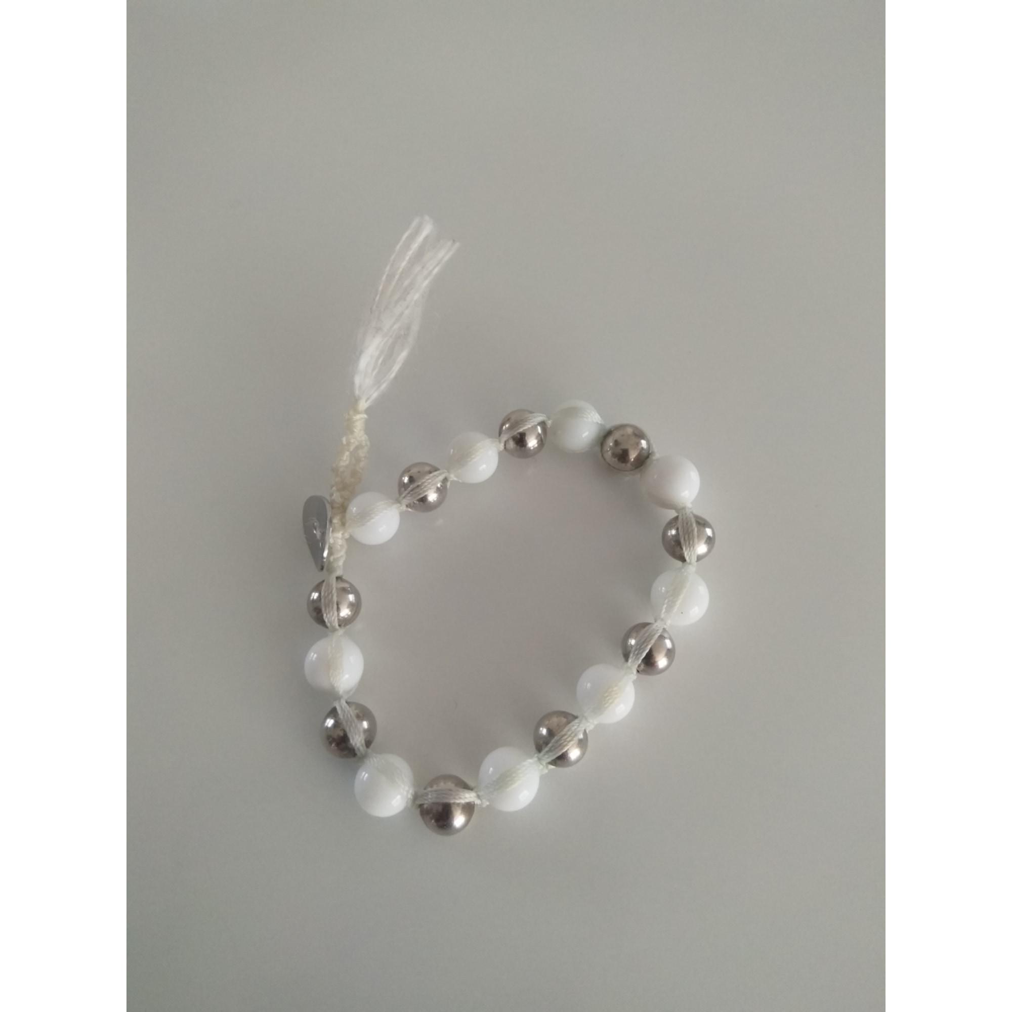 Bracelet LE MANÈGE À BIJOUX Blanc, blanc cassé, écru