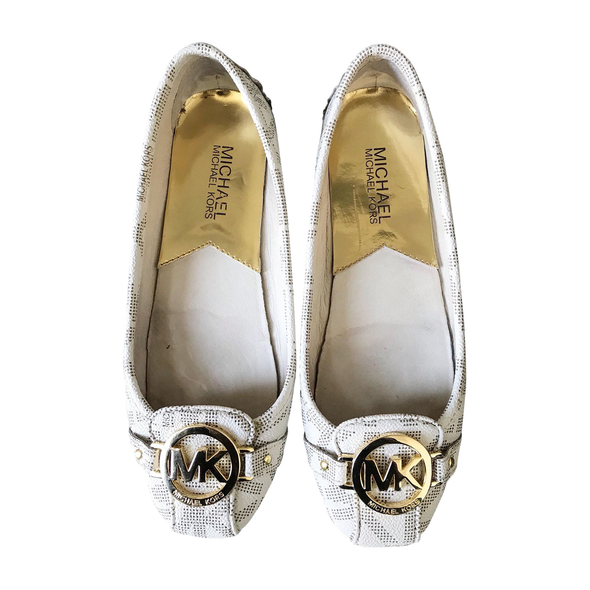 Loafers MICHAEL KORS White, off-white, ecru