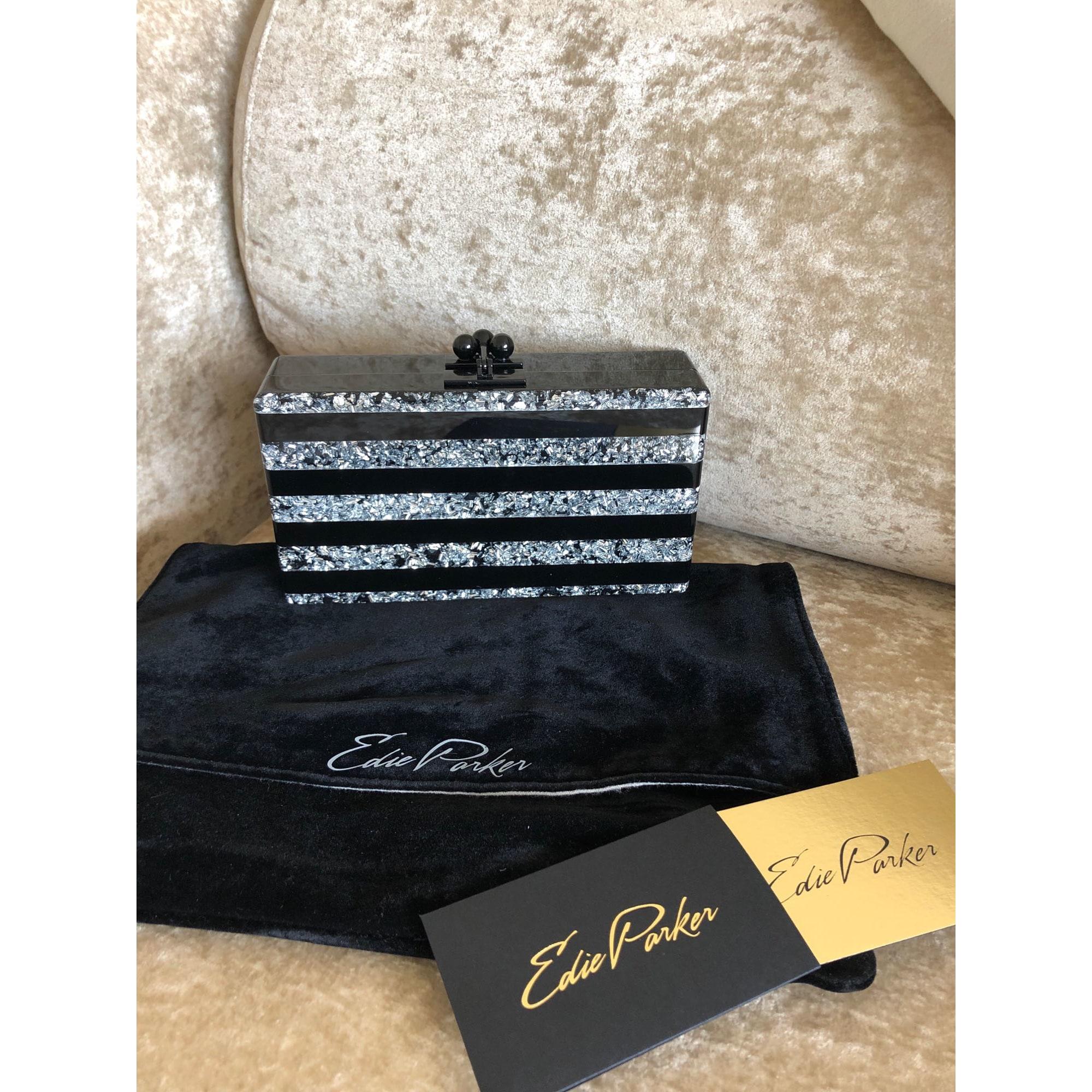 Pochette EDIE PARKER acrylic noir