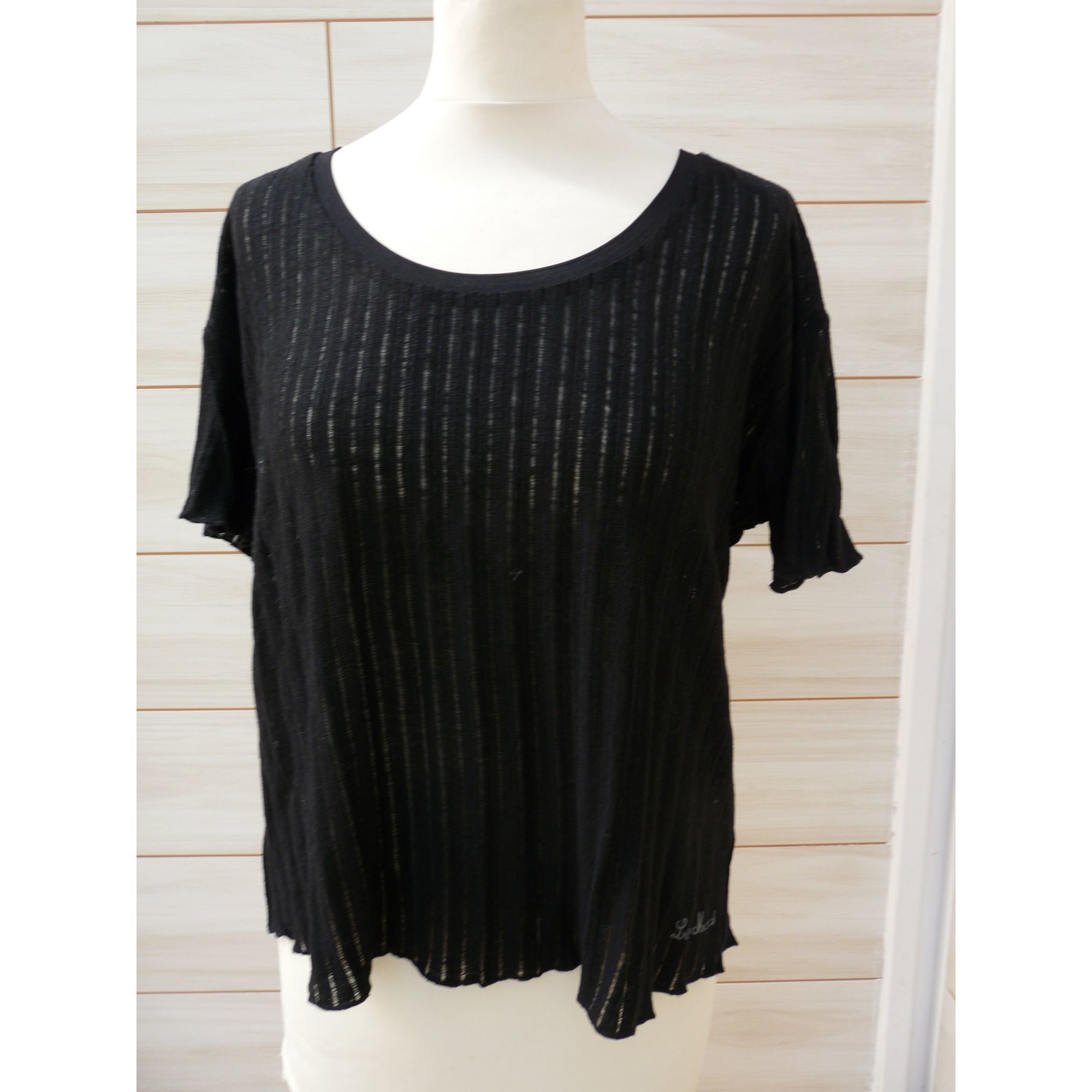 Top, tee-shirt LITTLE MARCEL Noir