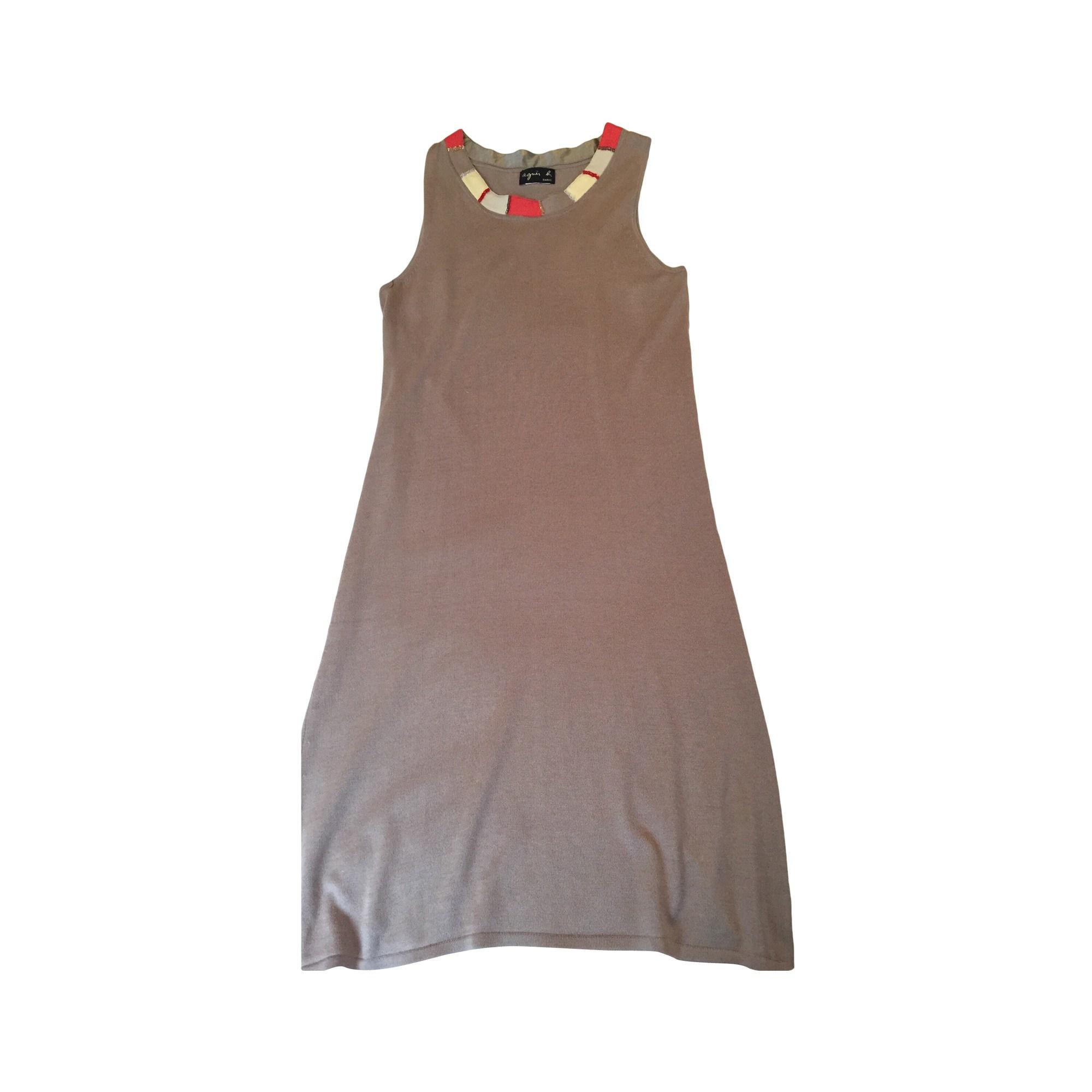 Mini-Kleid AGNÈS B Beige