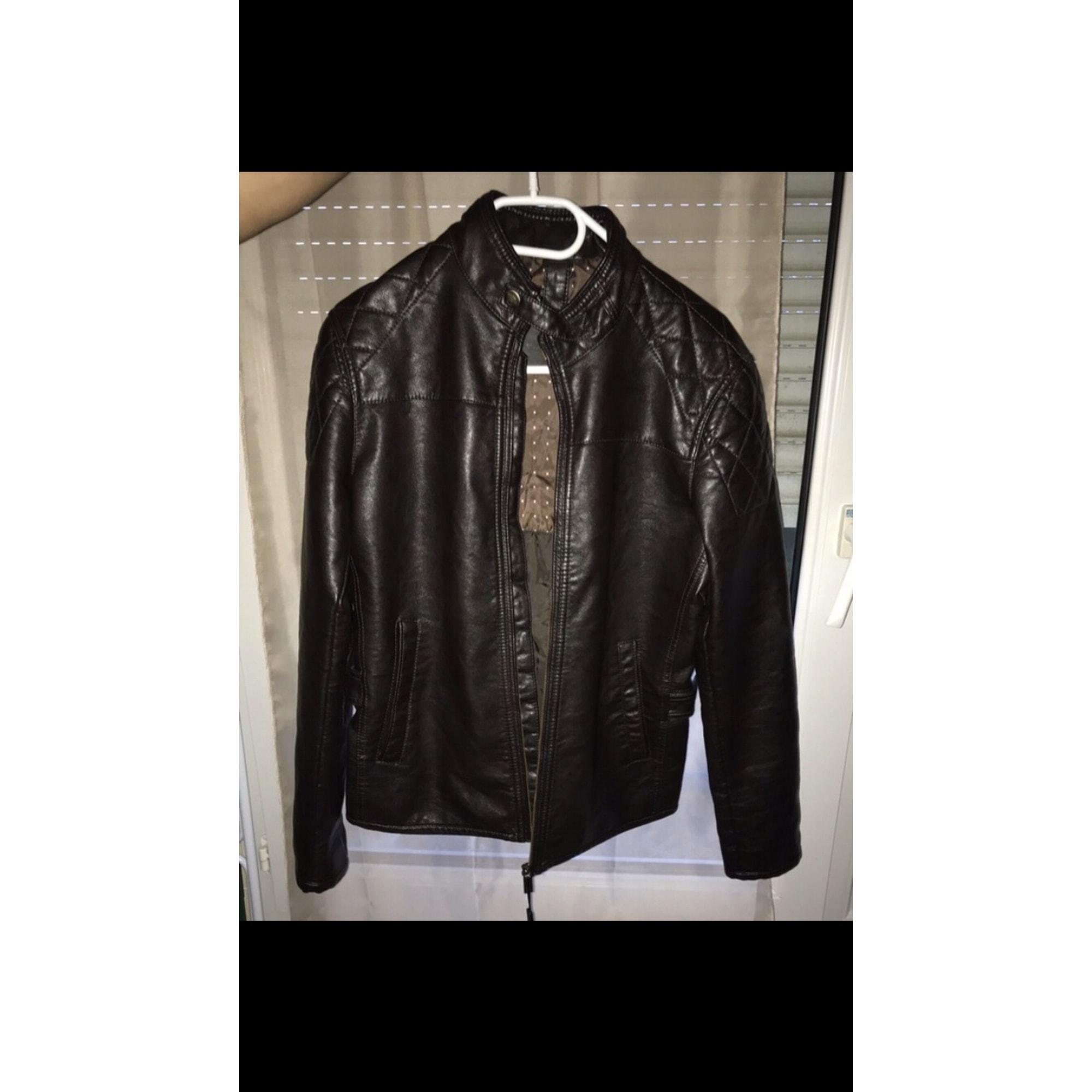 Vestes en cuir Massimo Dutti Femme : Vestes en cuir jusqu'à