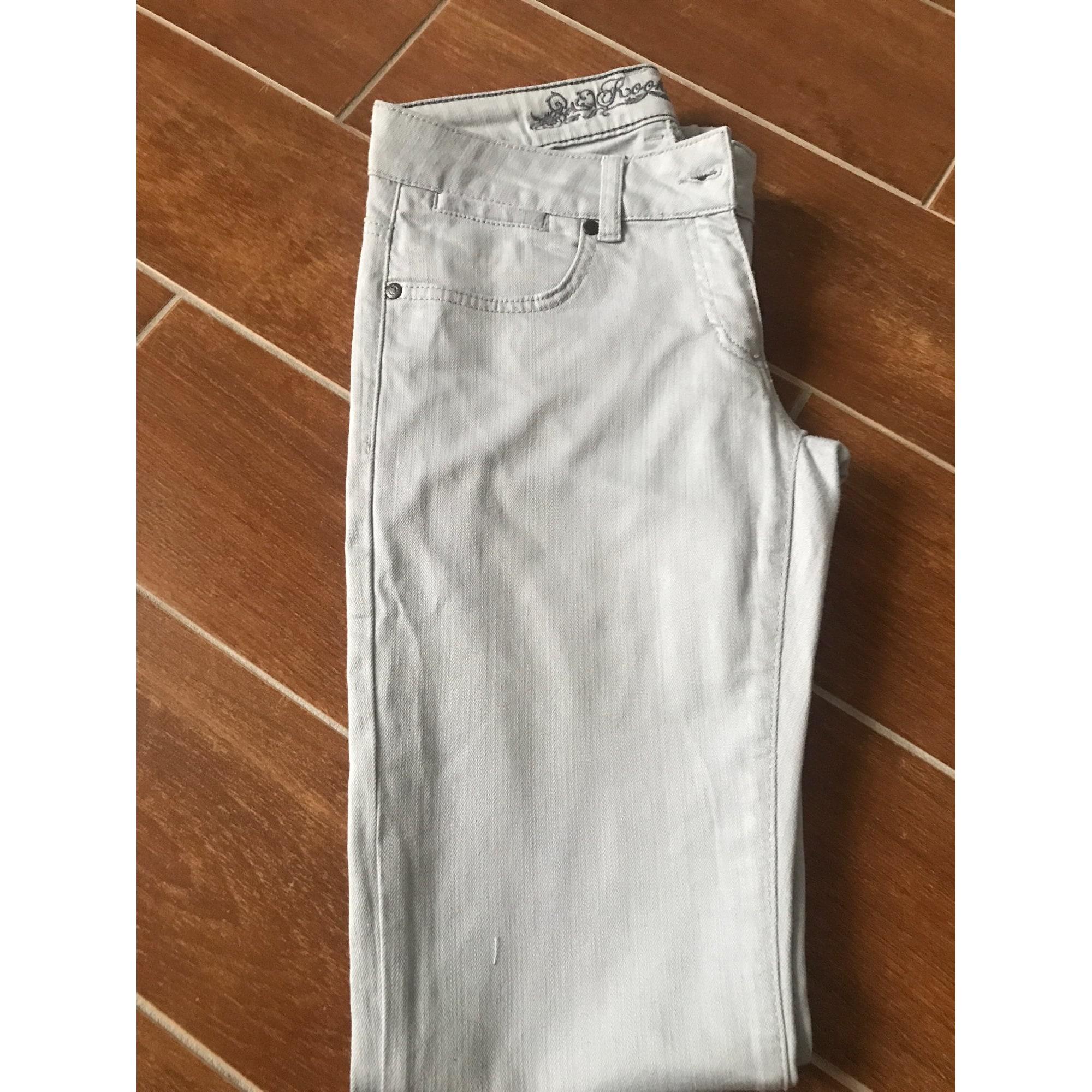 Jeans slim KOOKAI Gris, anthracite