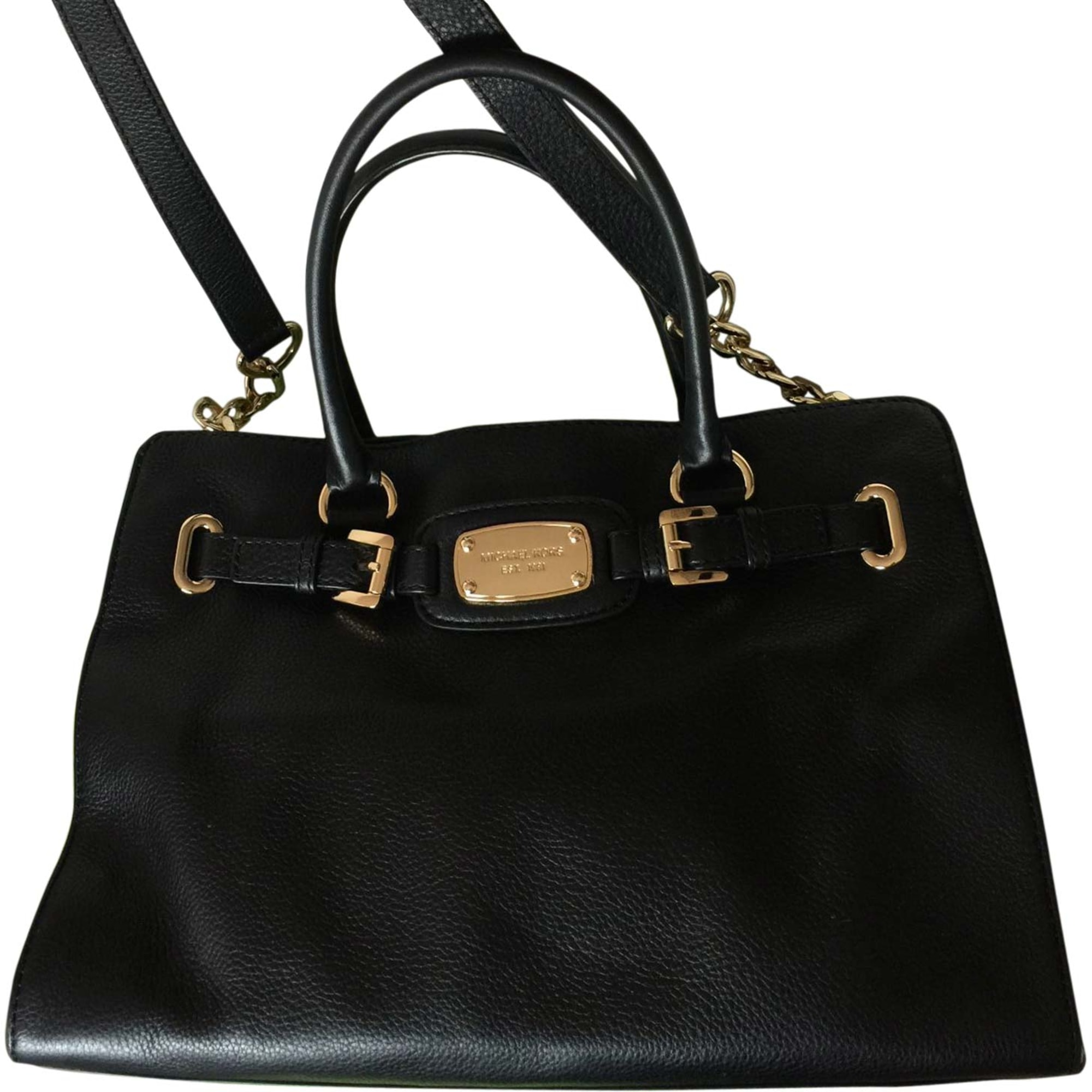 Leather Handbag MICHAEL KORS Black