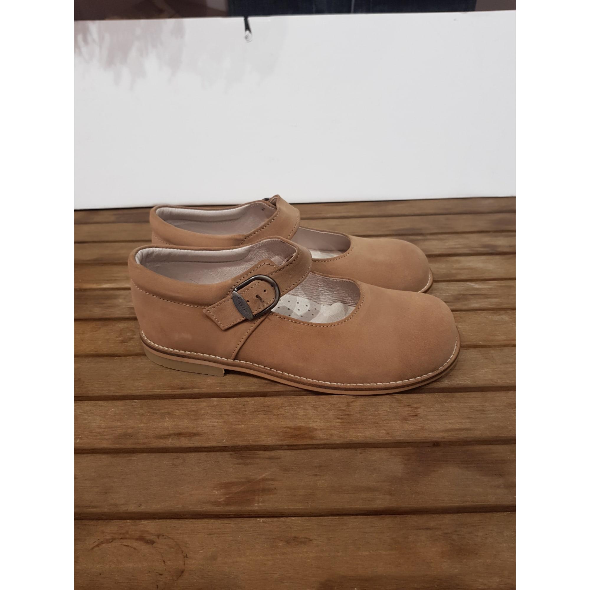 Chaussures à boucle ZARDUS Beige, camel