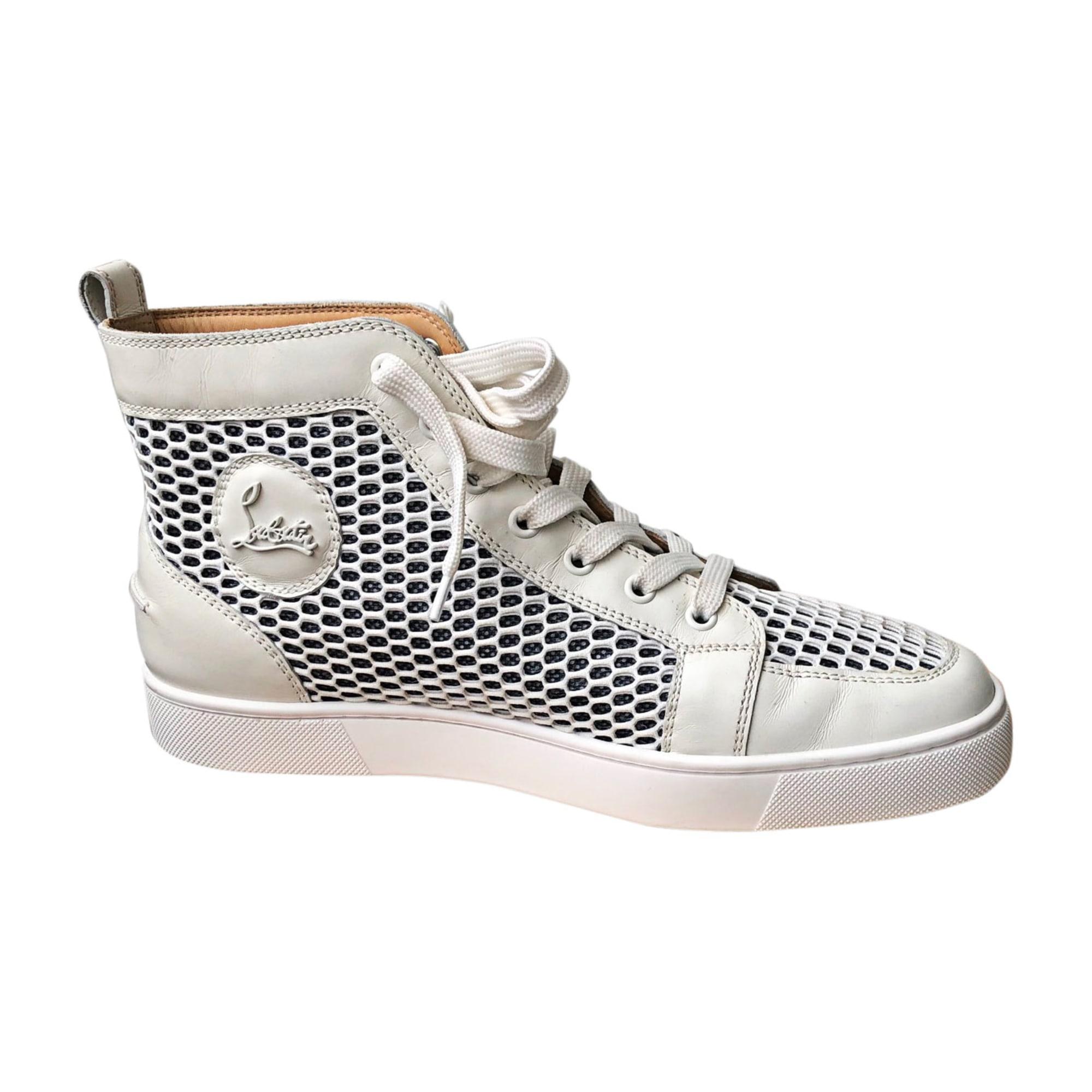 Chaussures à lacets CHRISTIAN LOUBOUTIN Blanc, blanc cassé, écru