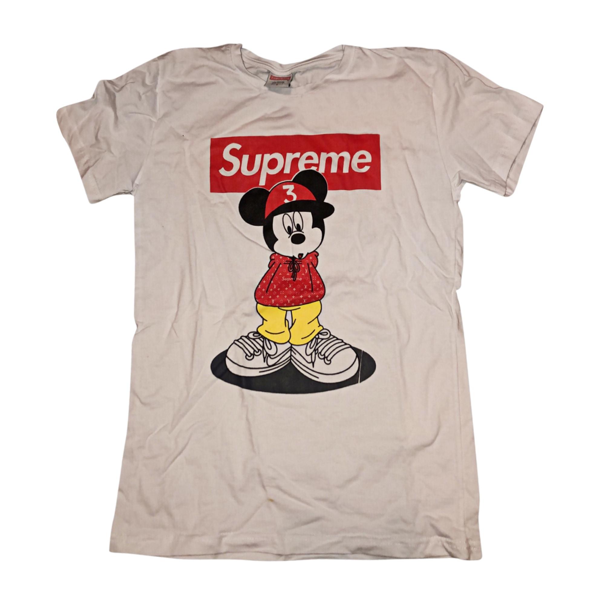 Top, tee-shirt SUPREME Blanc, blanc cassé, écru