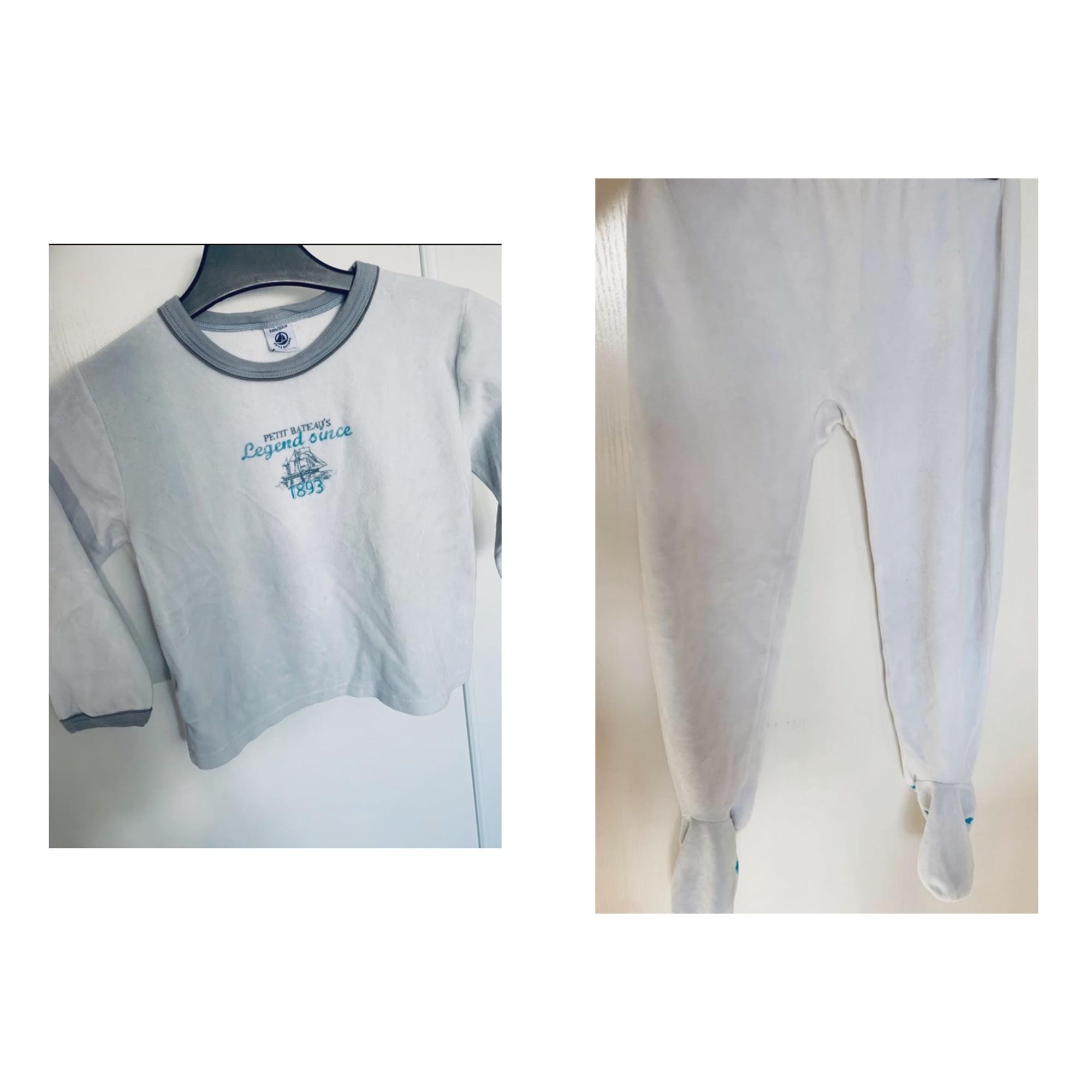 Pyjama PETIT BATEAU Blue, navy, turquoise
