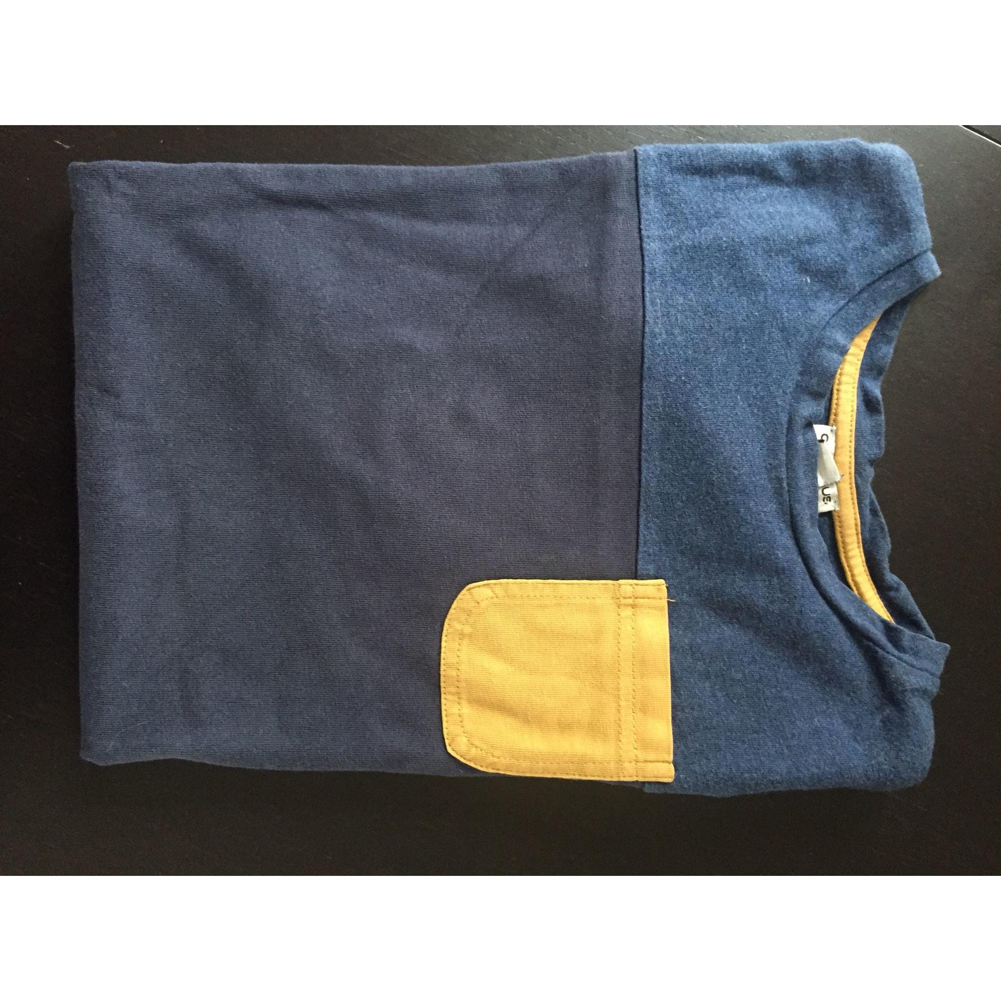 Tee-shirt CYRILLUS Bleu, bleu marine, bleu turquoise