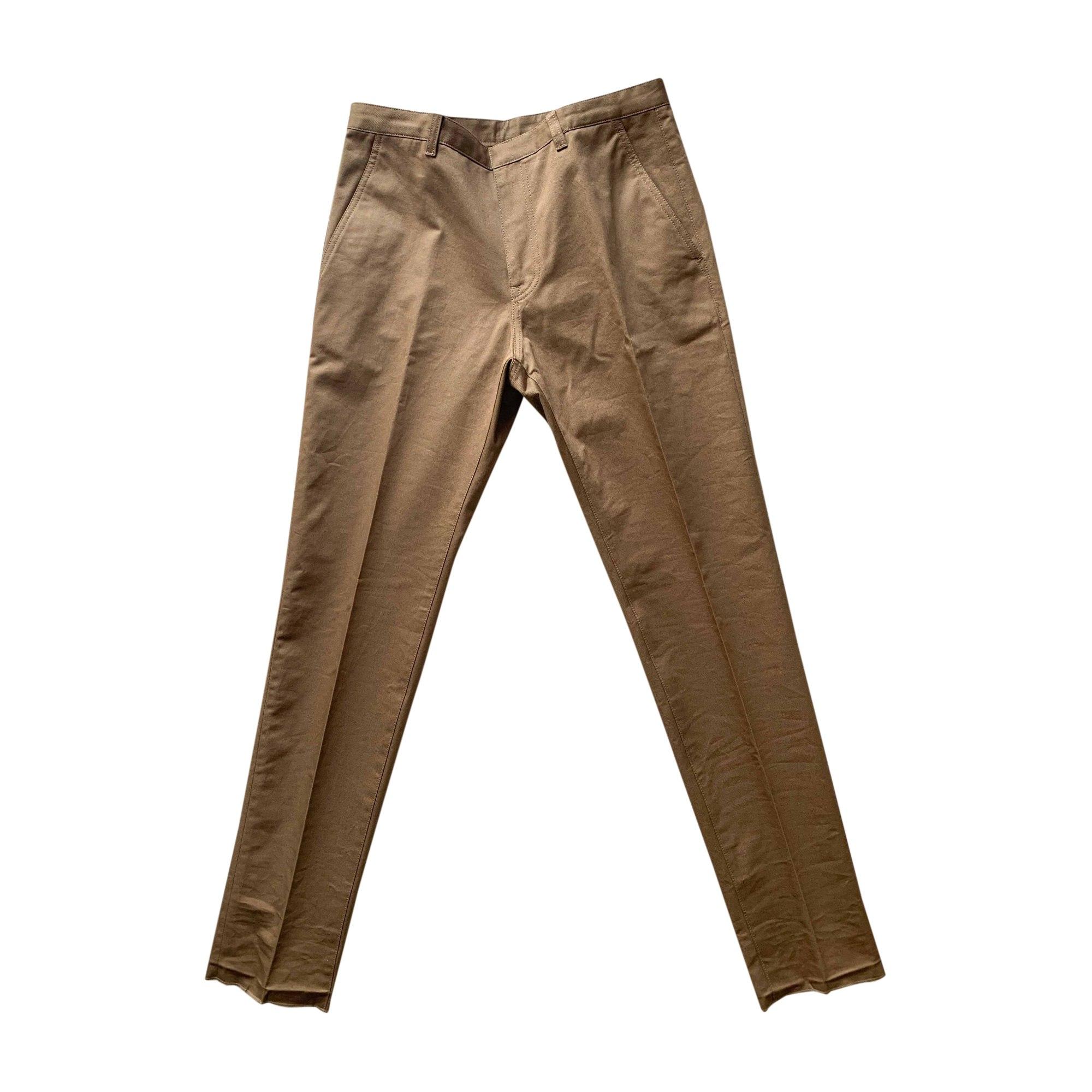 Pantalon droit BERLUTI Beige, camel