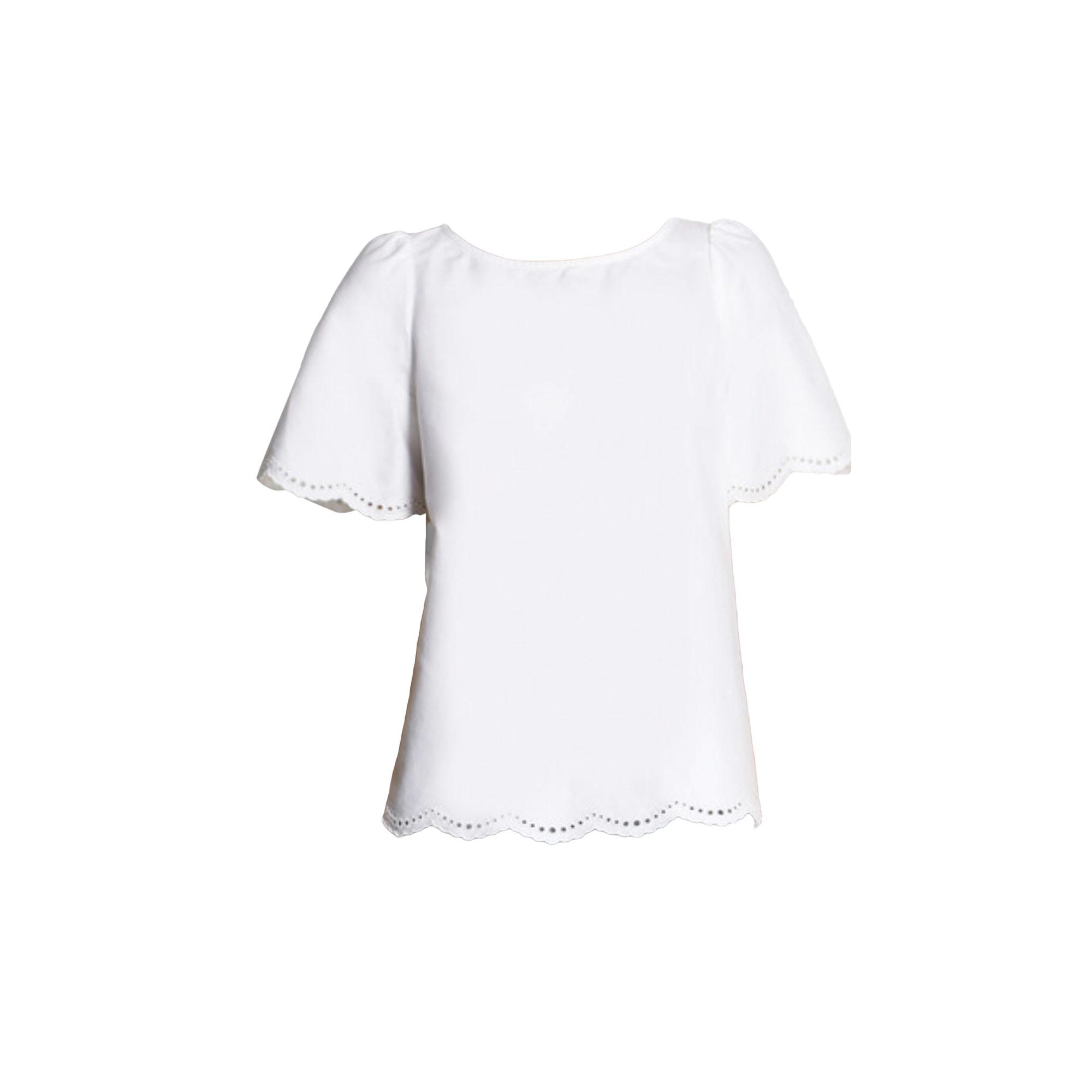 Top, tee-shirt APC Blanc, blanc cassé, écru