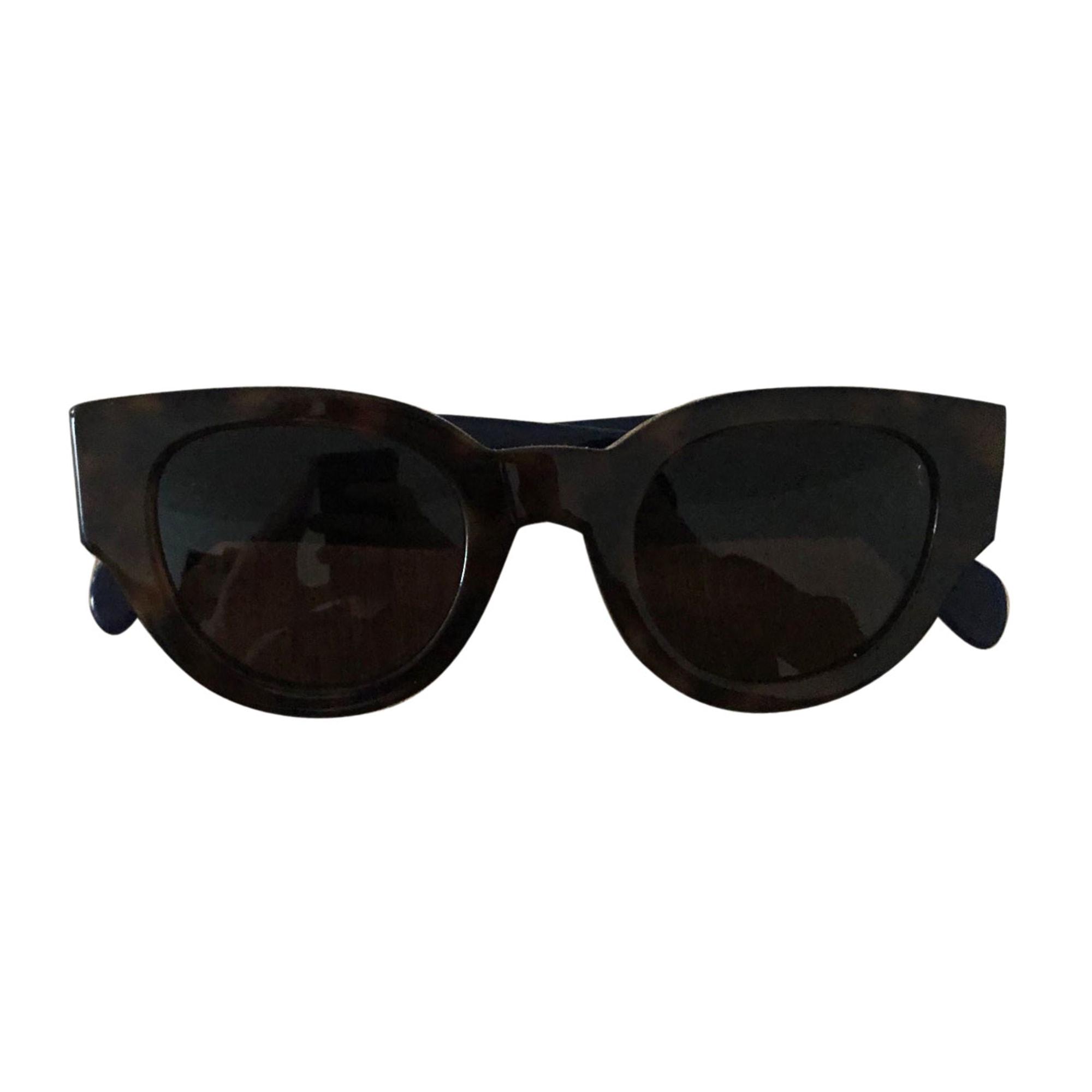 Sunglasses CÉLINE Noir écaille/marine