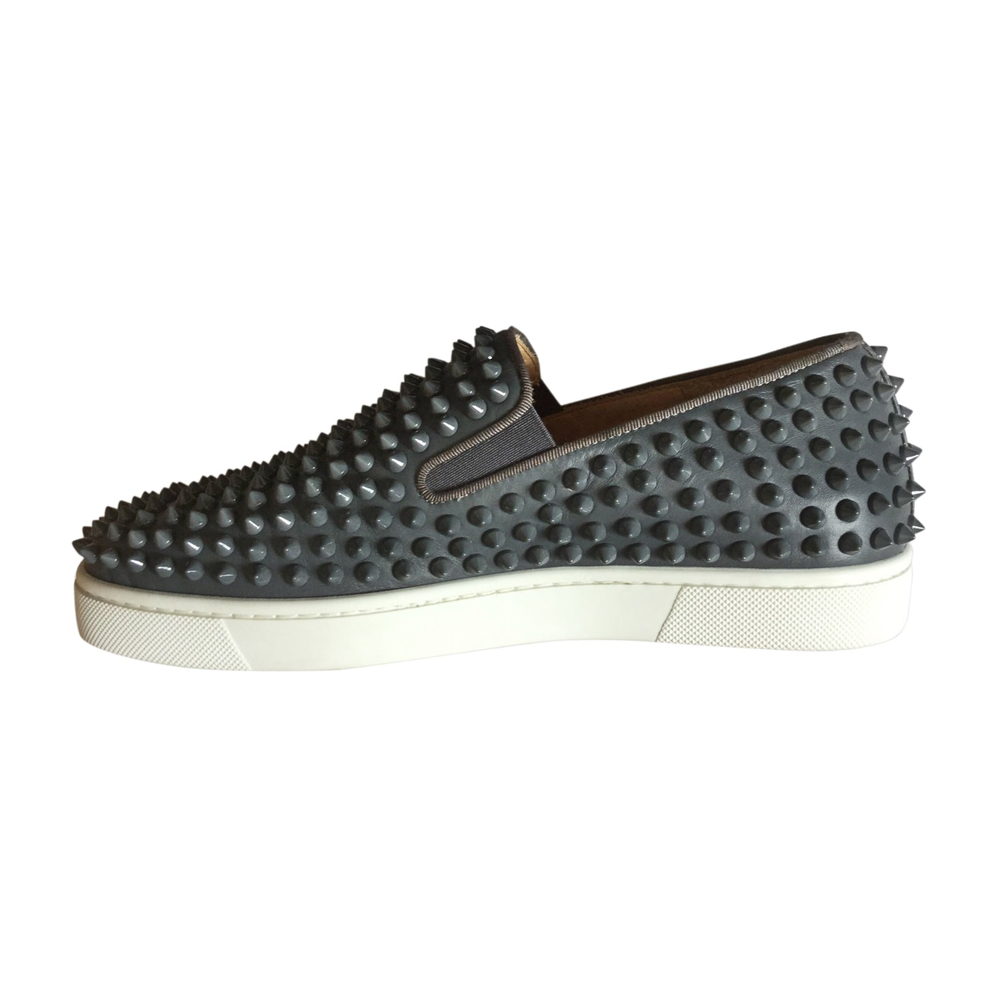 Sneakers CHRISTIAN LOUBOUTIN Gray, charcoal