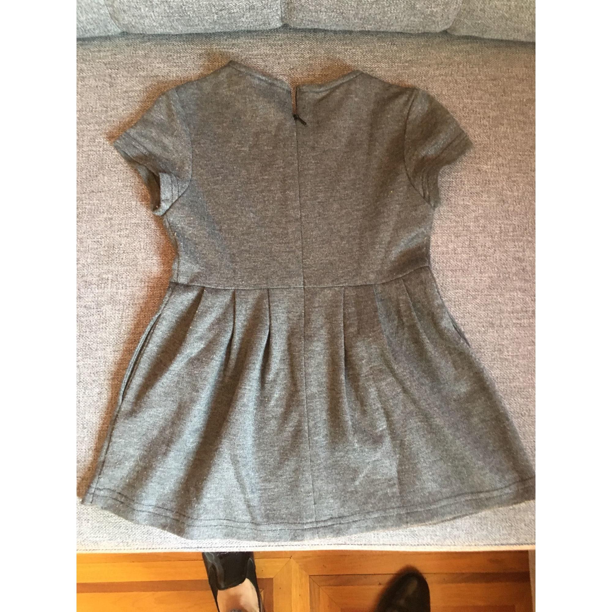 Robe C DE C BY CORDELIA DE CASTELLANE coton gris 4 ans