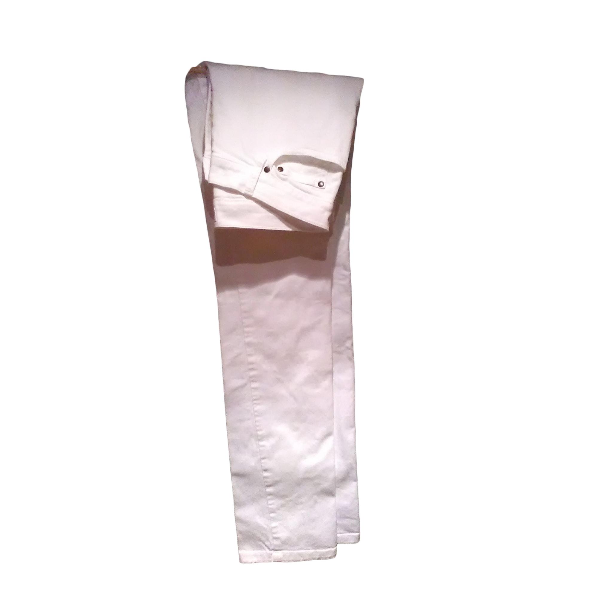 Straight-Cut Jeans  AGNÈS B. Weiß, elfenbeinfarben