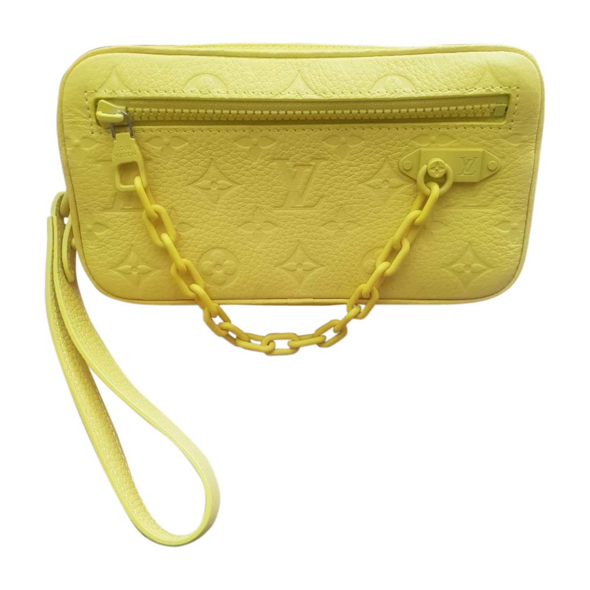 Small Messenger Bag LOUIS VUITTON Yellow