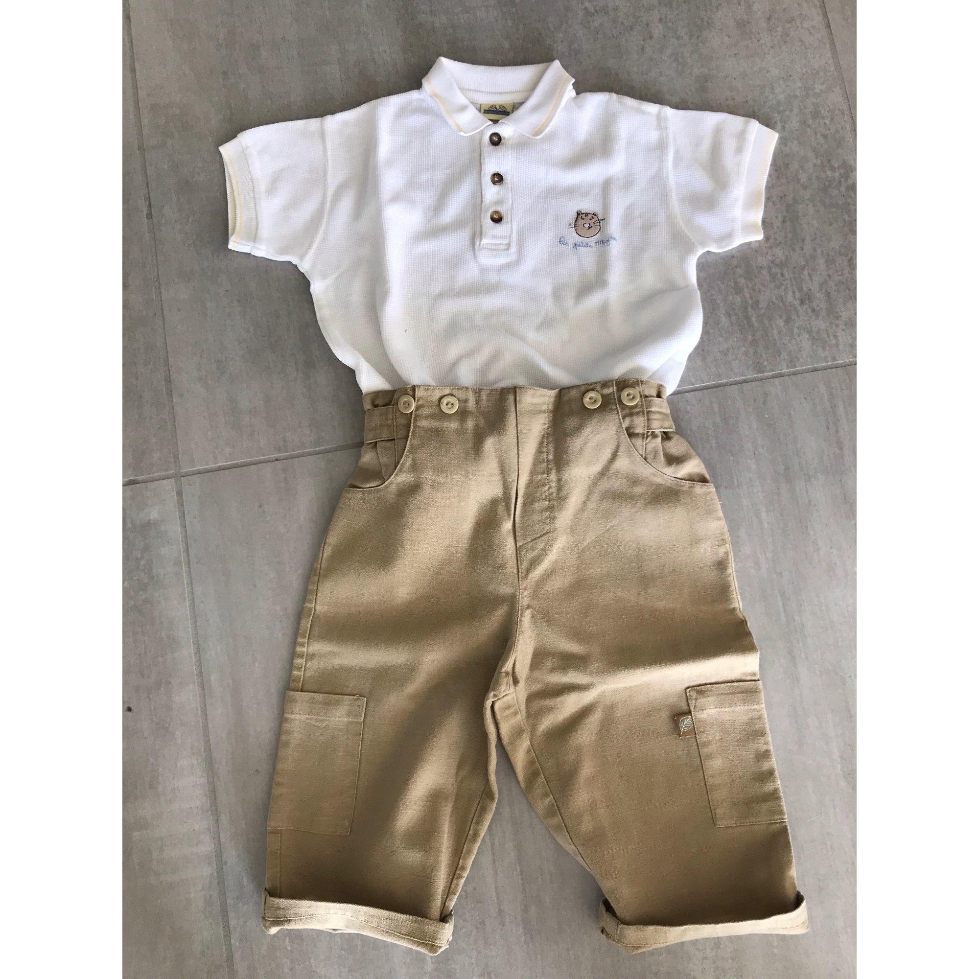 Ensemble & Combinaison pantalon SERGENT MAJOR Blanc, blanc cassé, écru