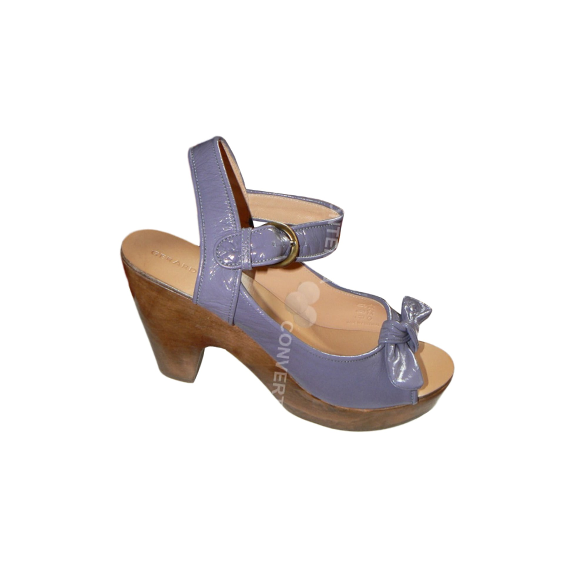 Sandales à talons GERARD DAREL Violet, mauve, lavande
