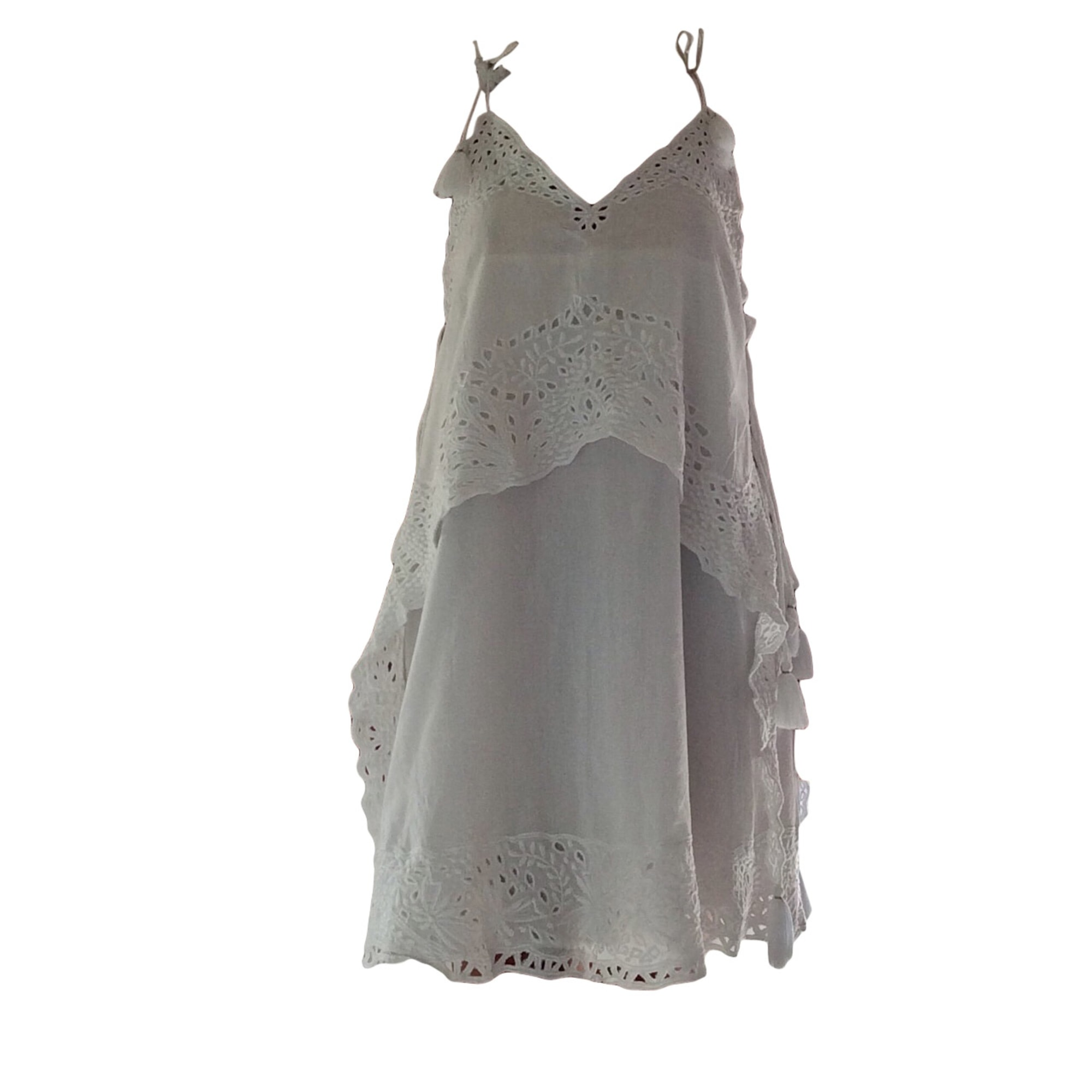 Mini-Kleid ANTIK BATIK Weiß, elfenbeinfarben