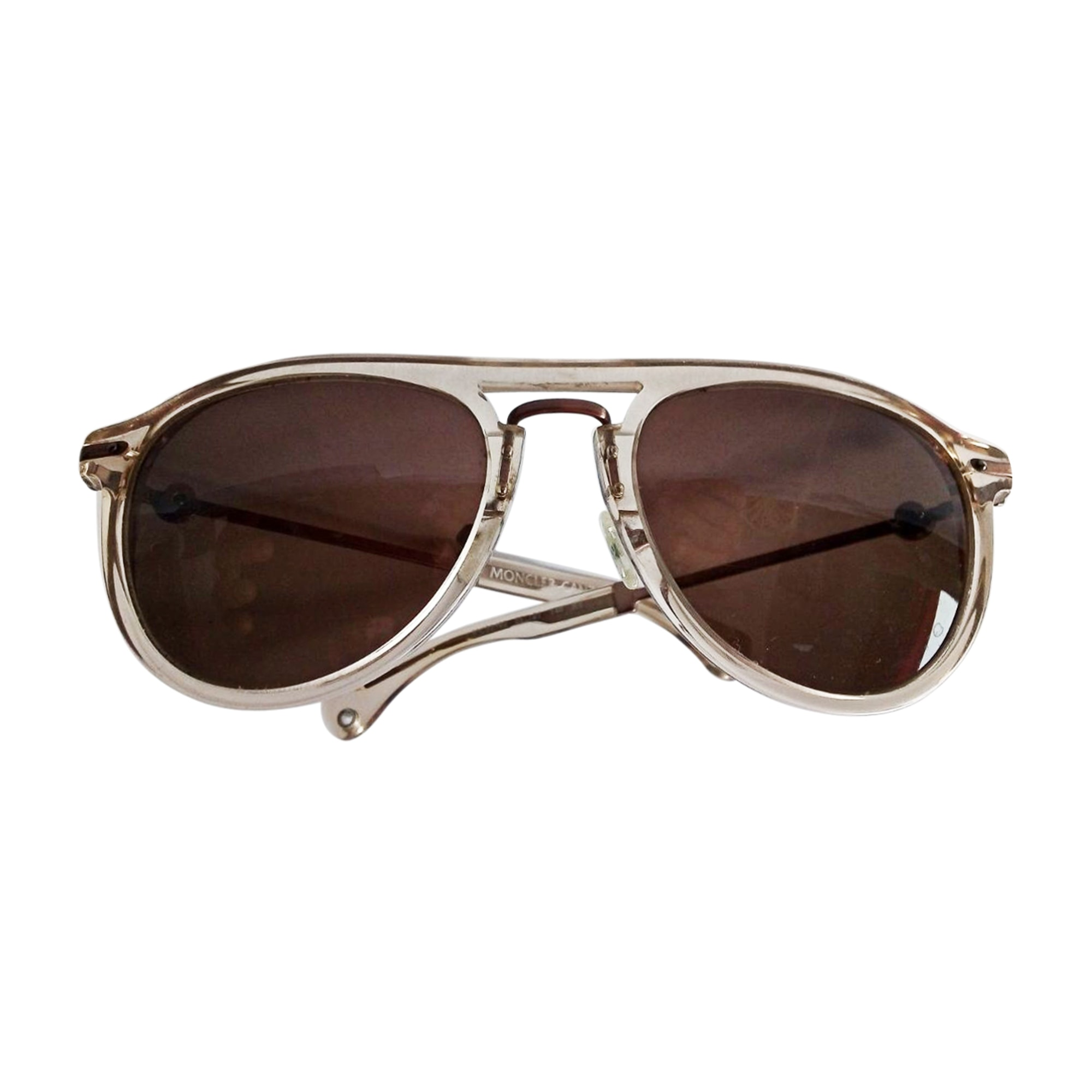 Sunglasses MONCLER Golden, bronze, copper