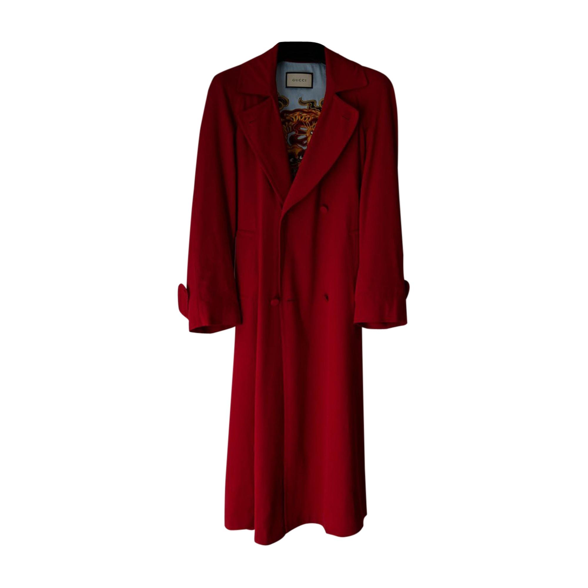 Coat GUCCI Rot