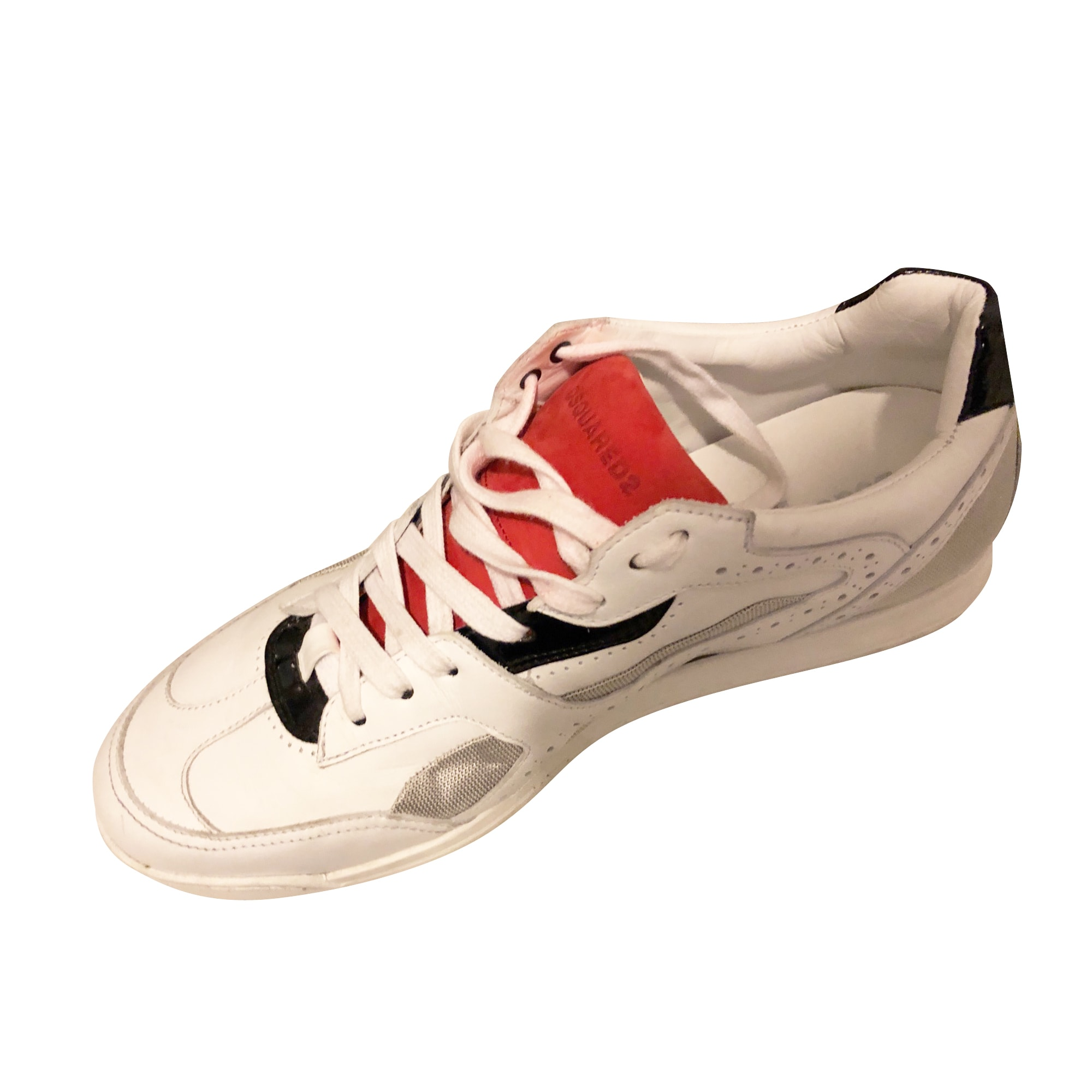 Scarpe da tennis DSQUARED2 Argentato, acciaio