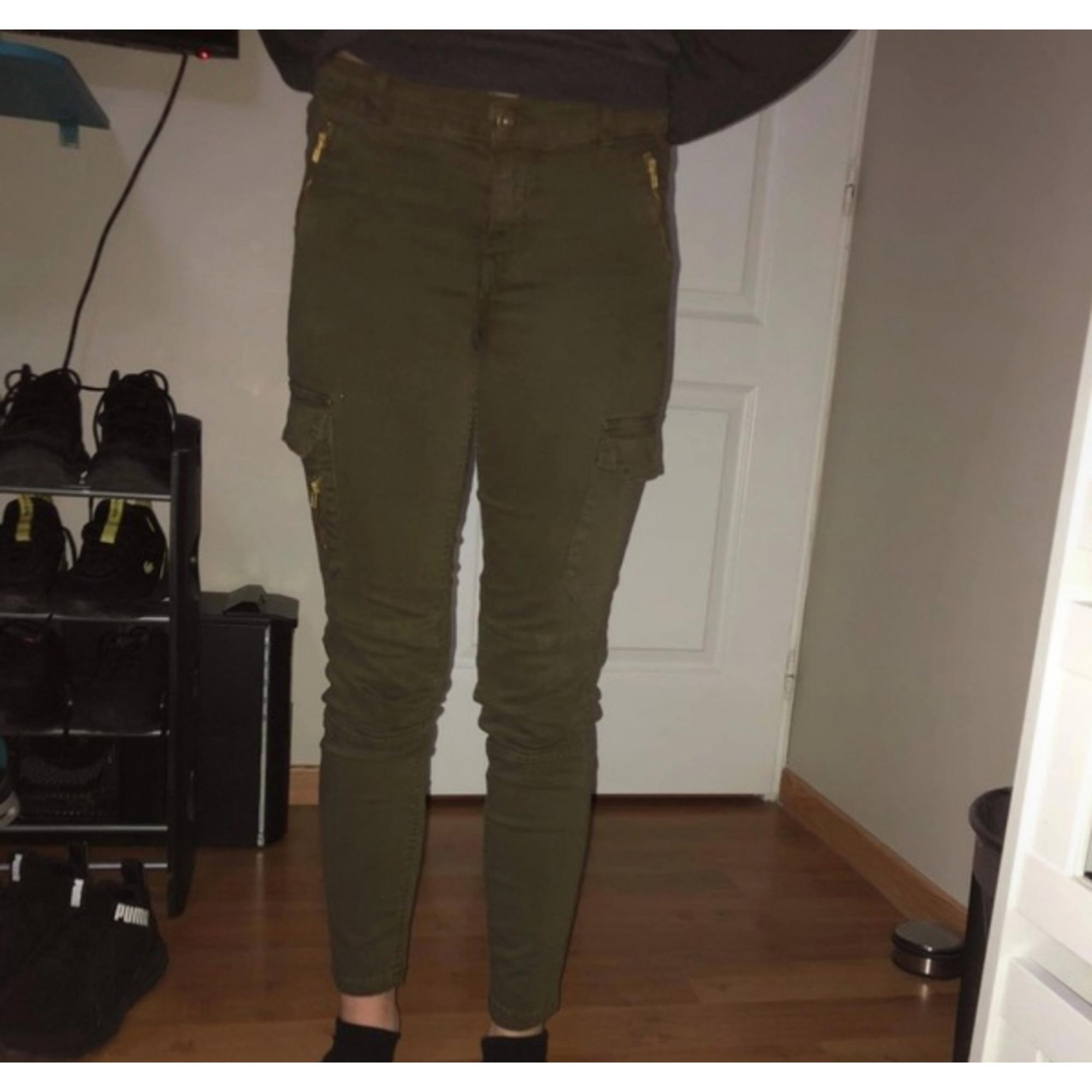 Jeans slim MIM Kaki