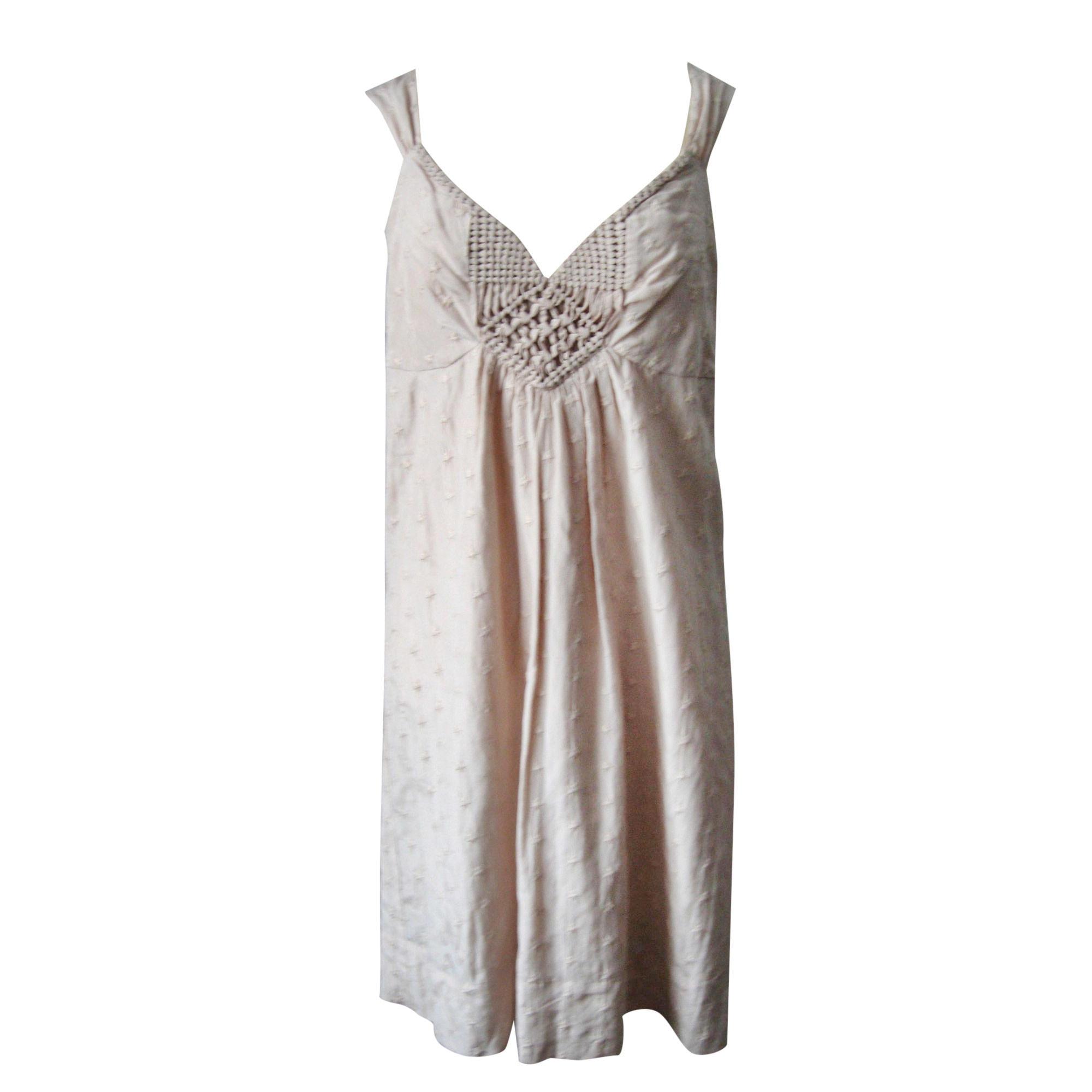 Mini-Kleid PABLO PAR GÉRARD DAREL Beige rosé nude