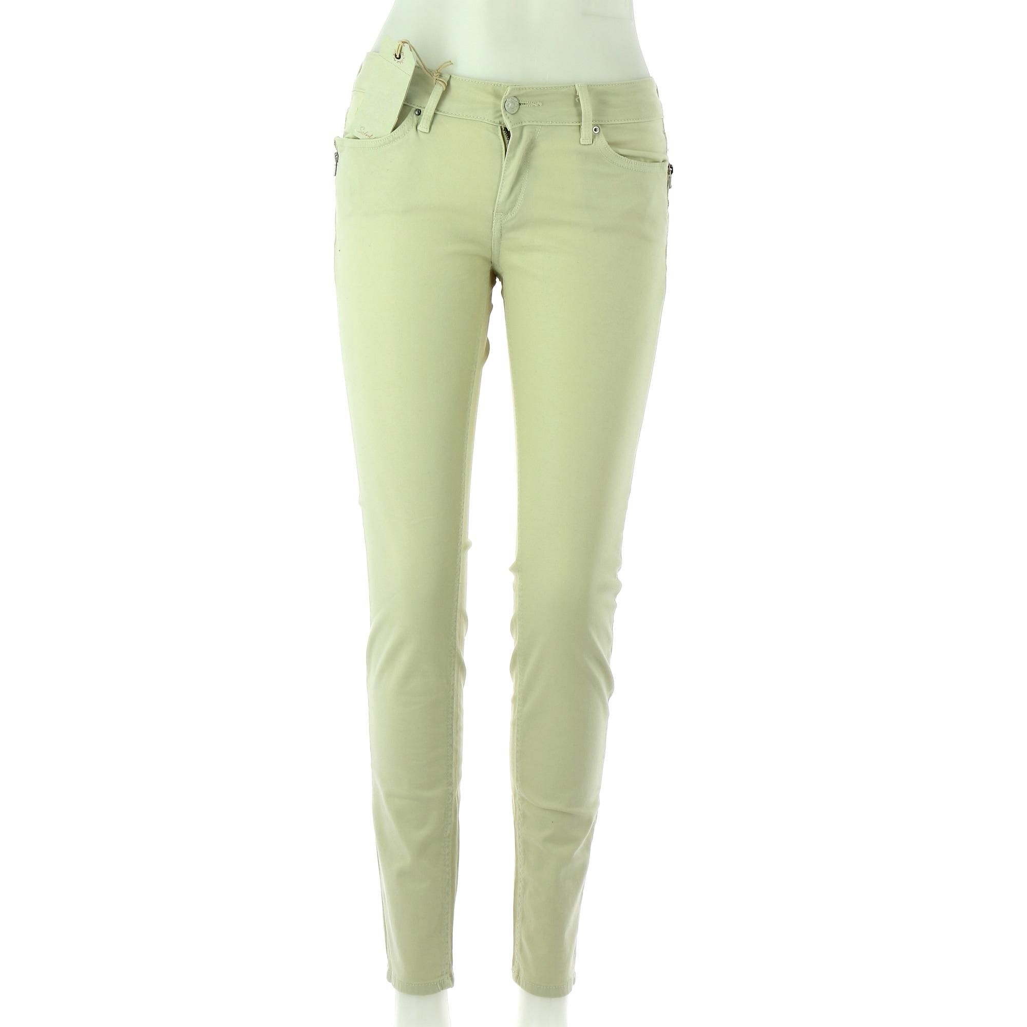 Straight-Cut Jeans  SCHOOL RAG Beige
