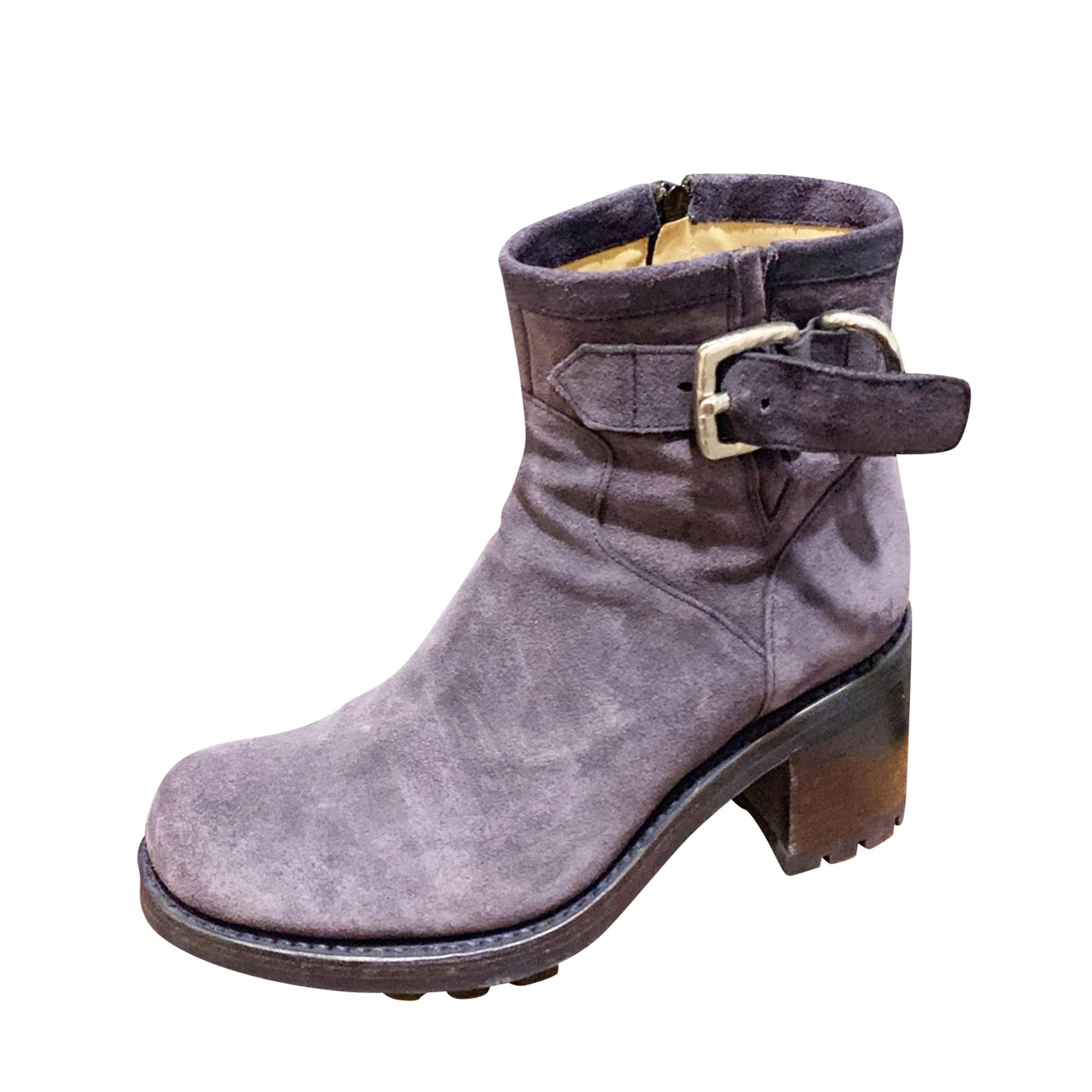 Bottines & low boots à talons FREE LANCE Marine