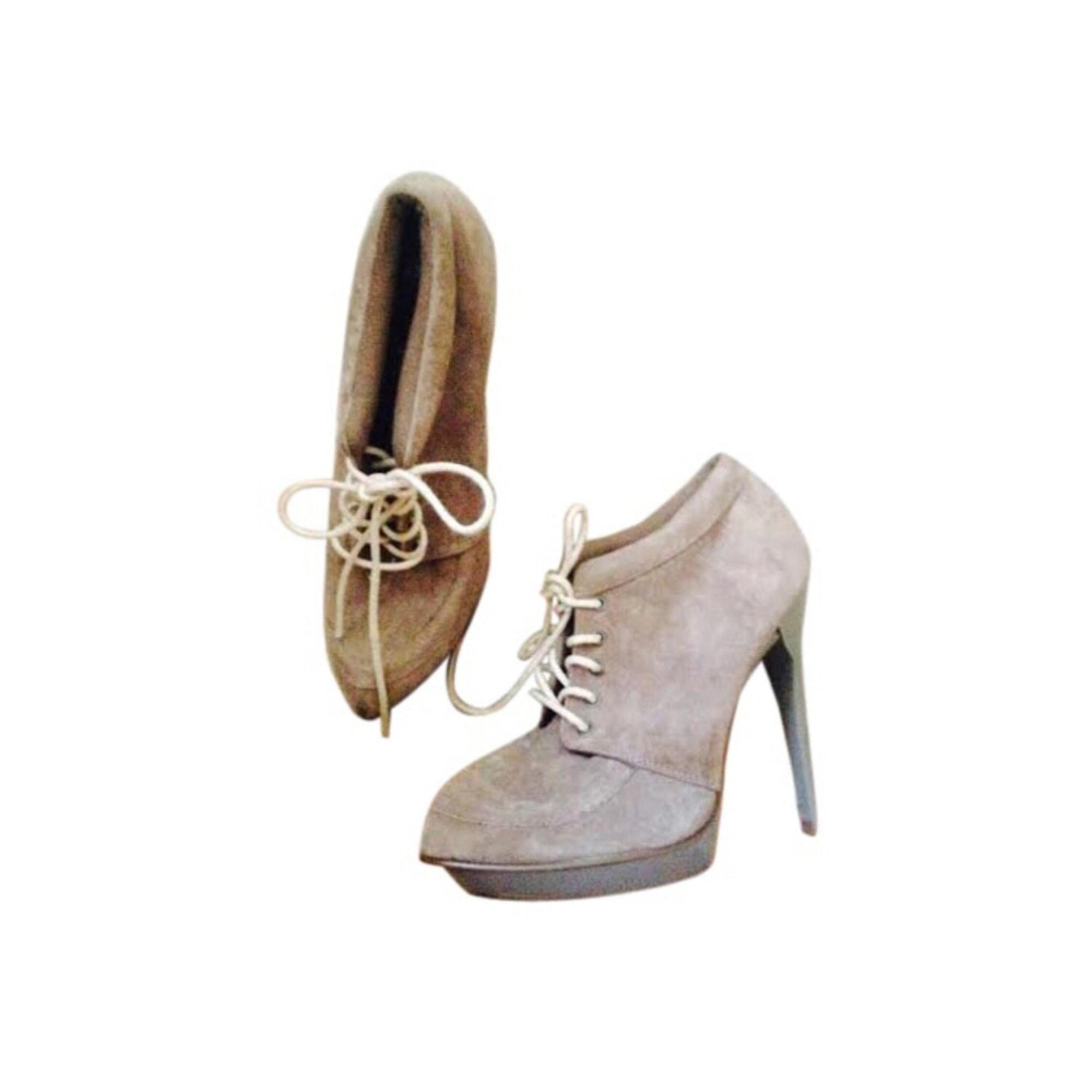 Bottines & low boots à talons ASOS Taupe