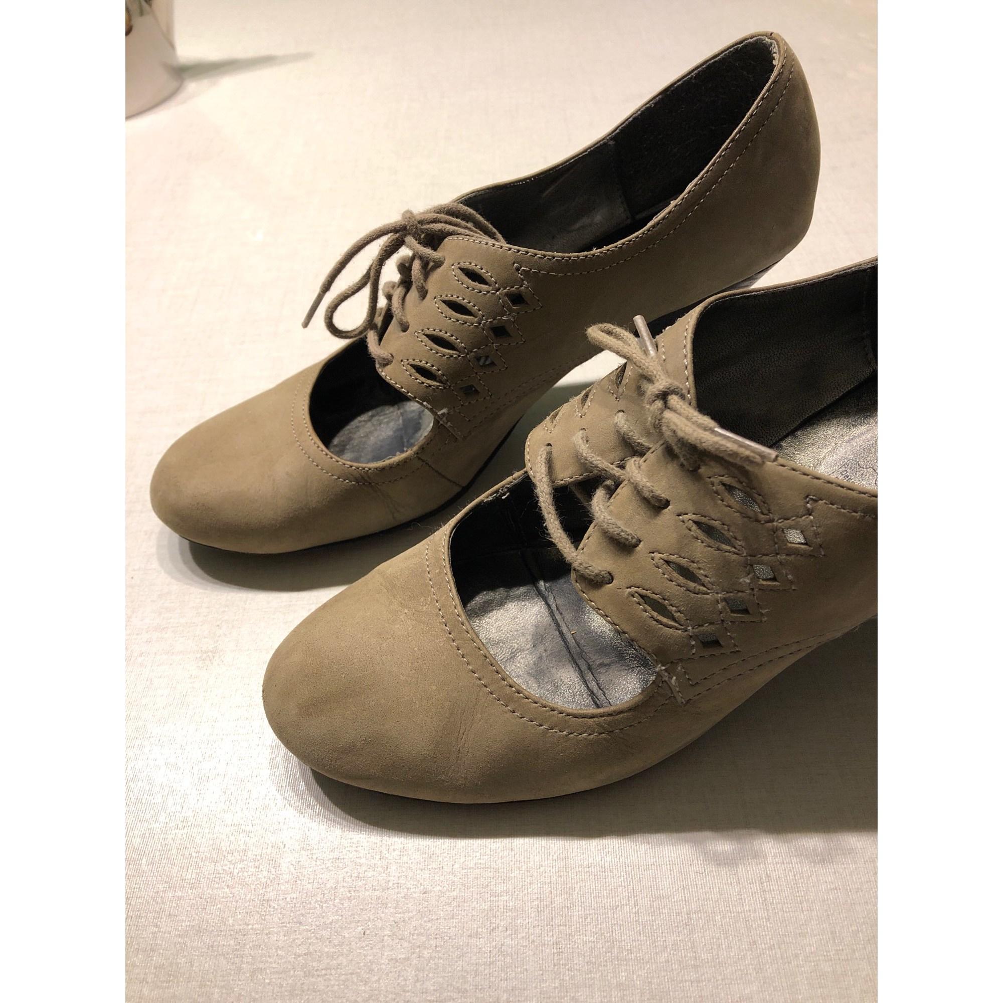 Bottines & low boots à talons ANDRÉ Gris, anthracite
