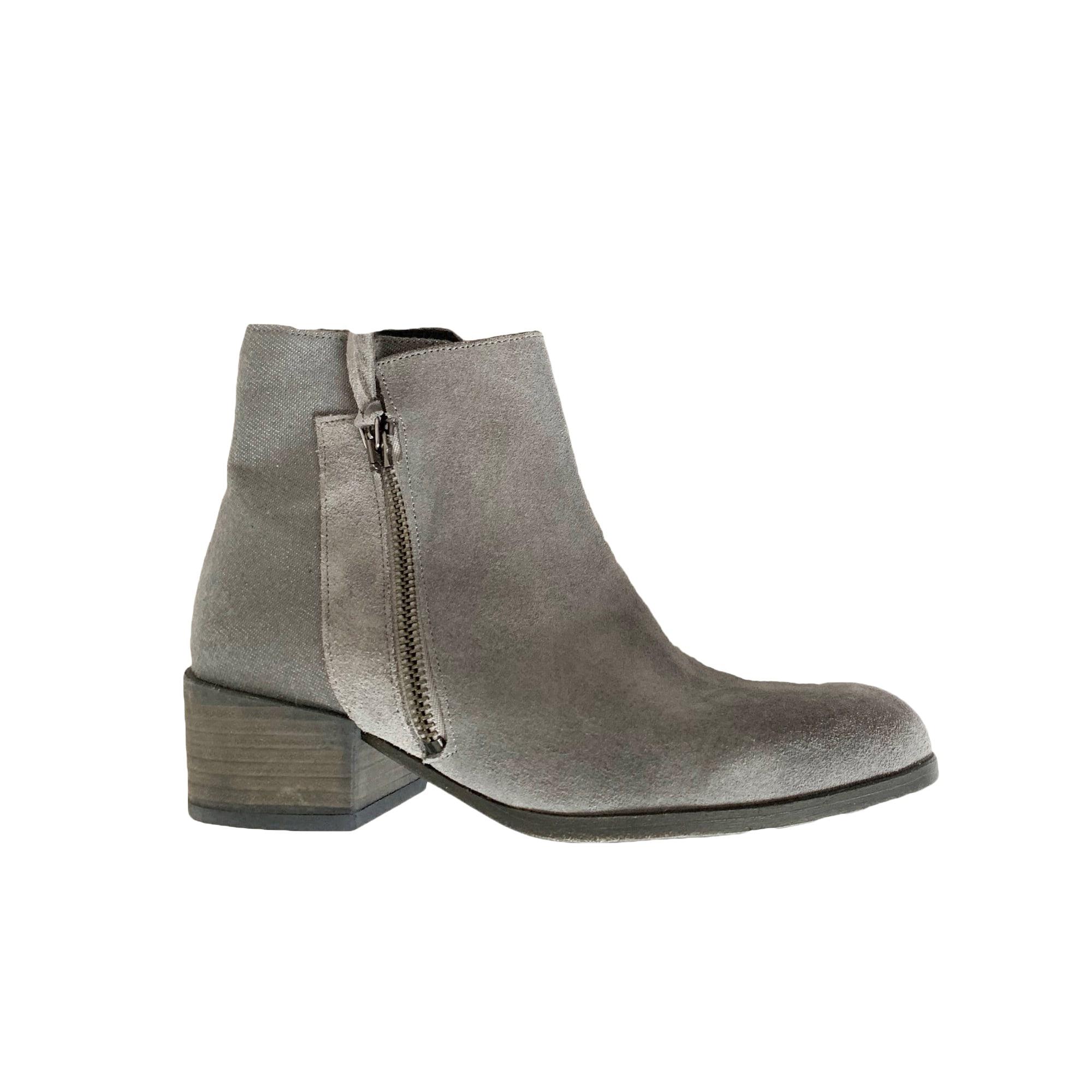 Bottines & low boots à talons COMPTOIR DES COTONNIERS Gris, anthracite
