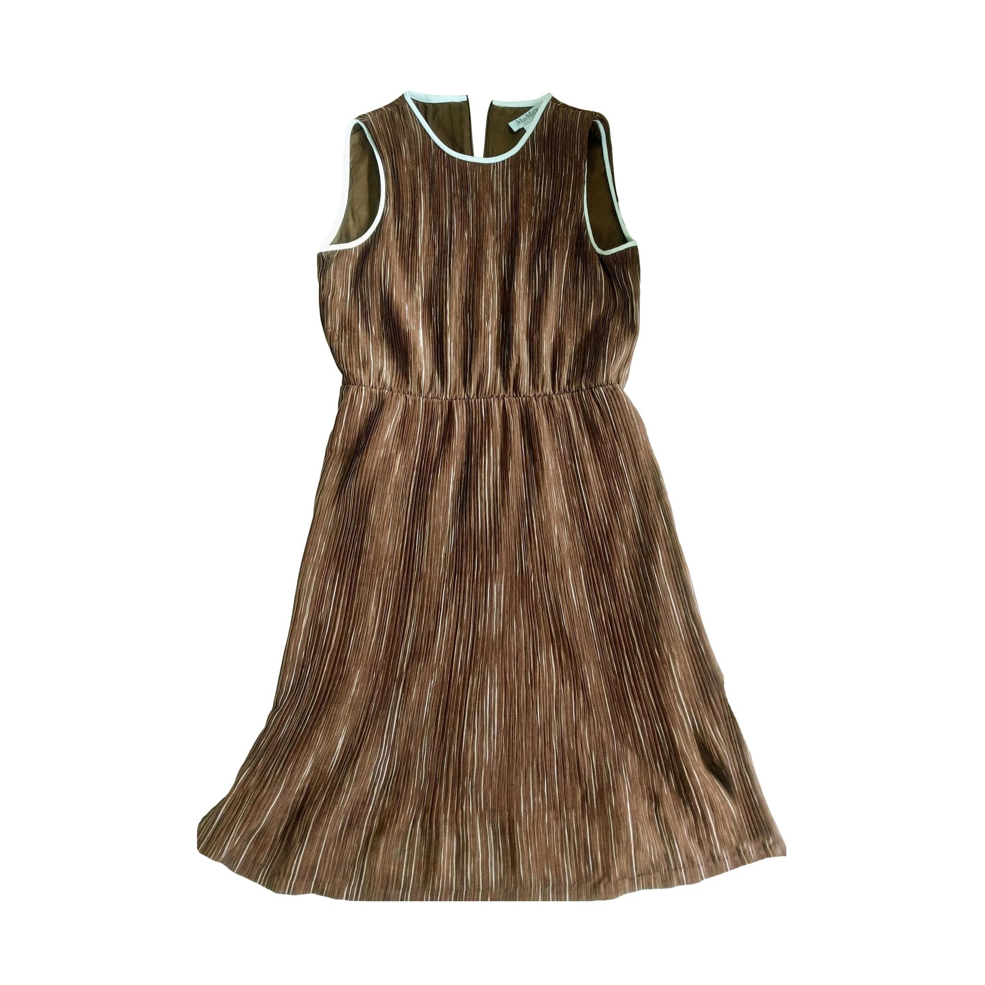 Mini Dress MAX MARA Beige, camel