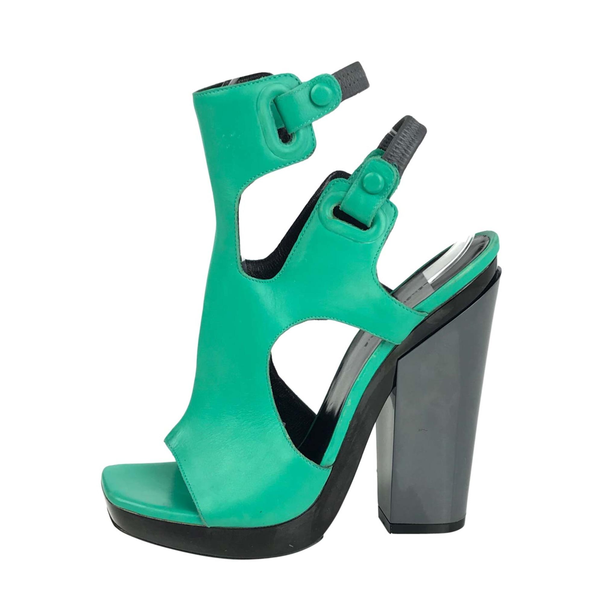 Heeled Sandals BALENCIAGA Green