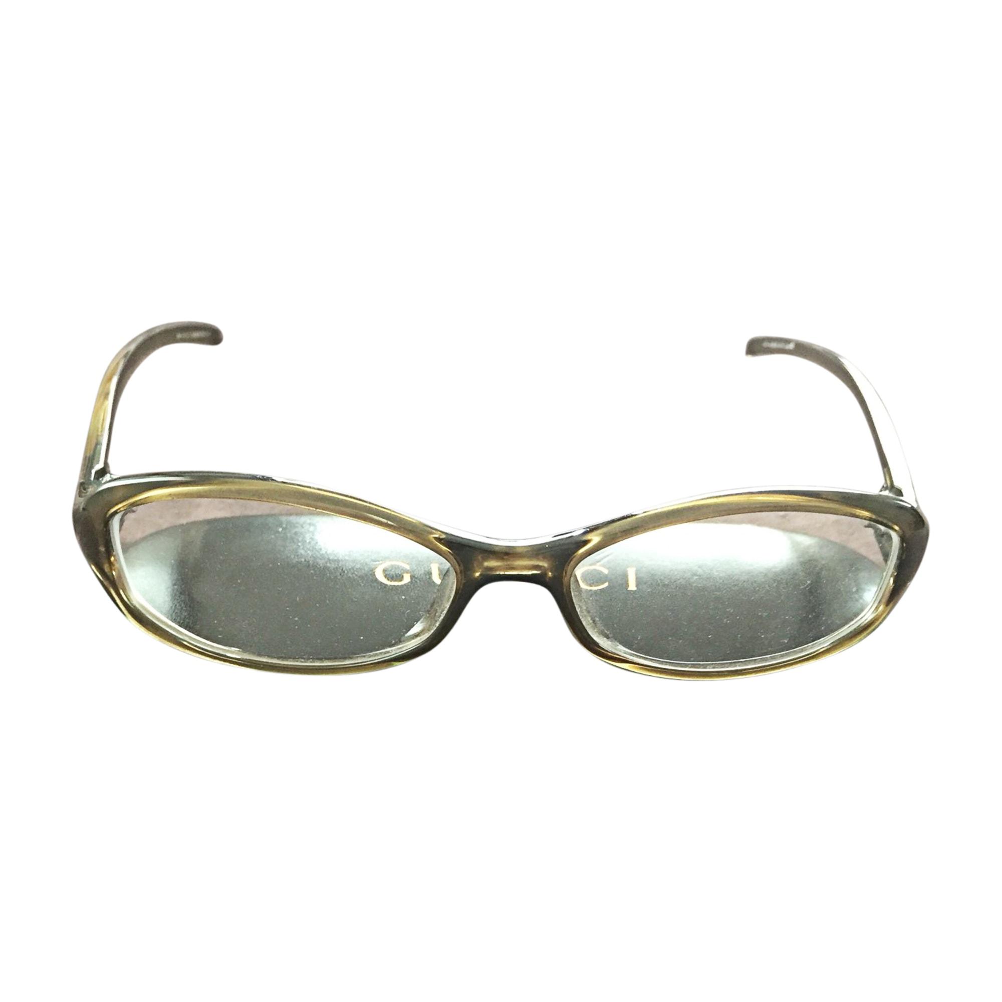 Eyeglass Frames GUCCI Khaki
