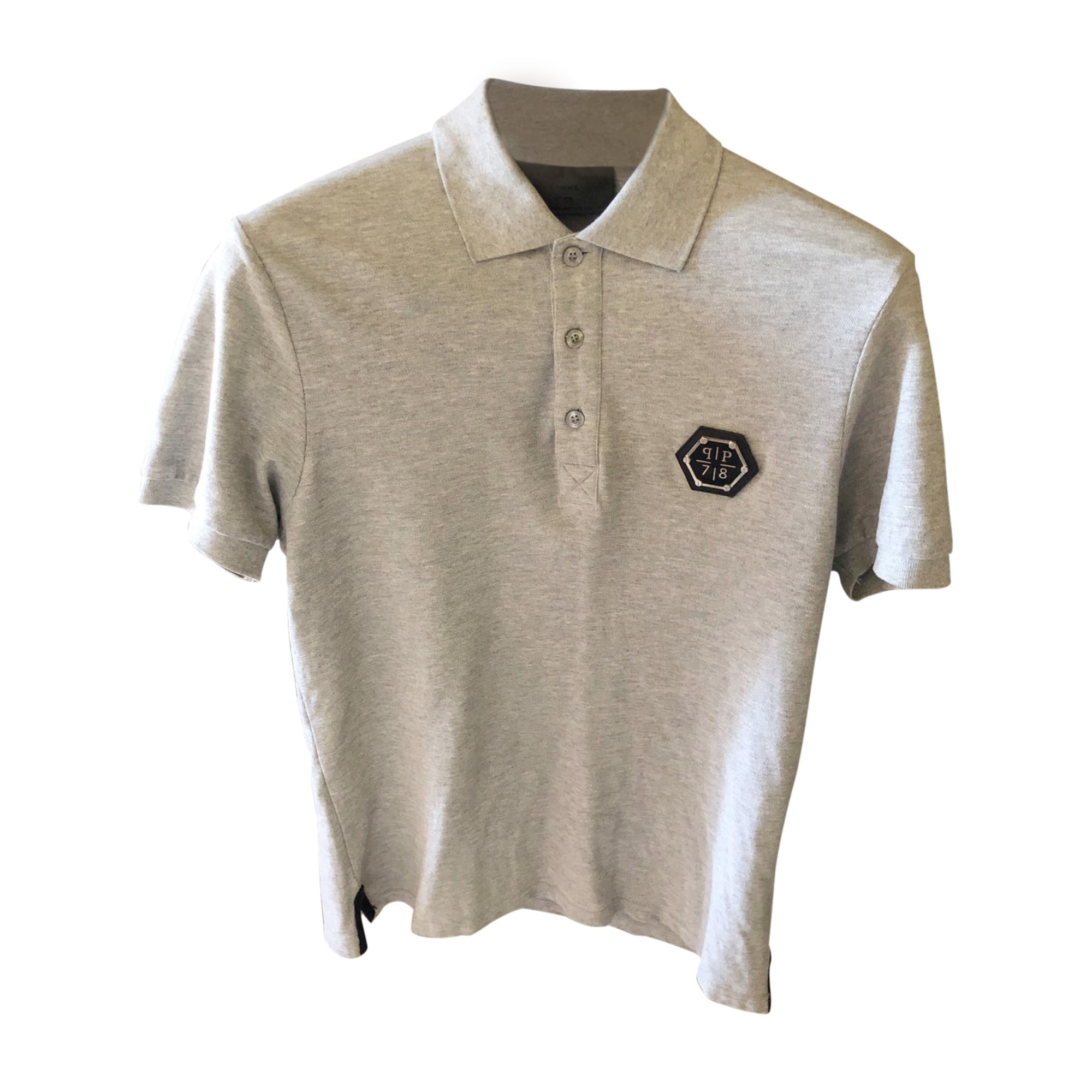 Polo PHILIPP PLEIN Gray, charcoal