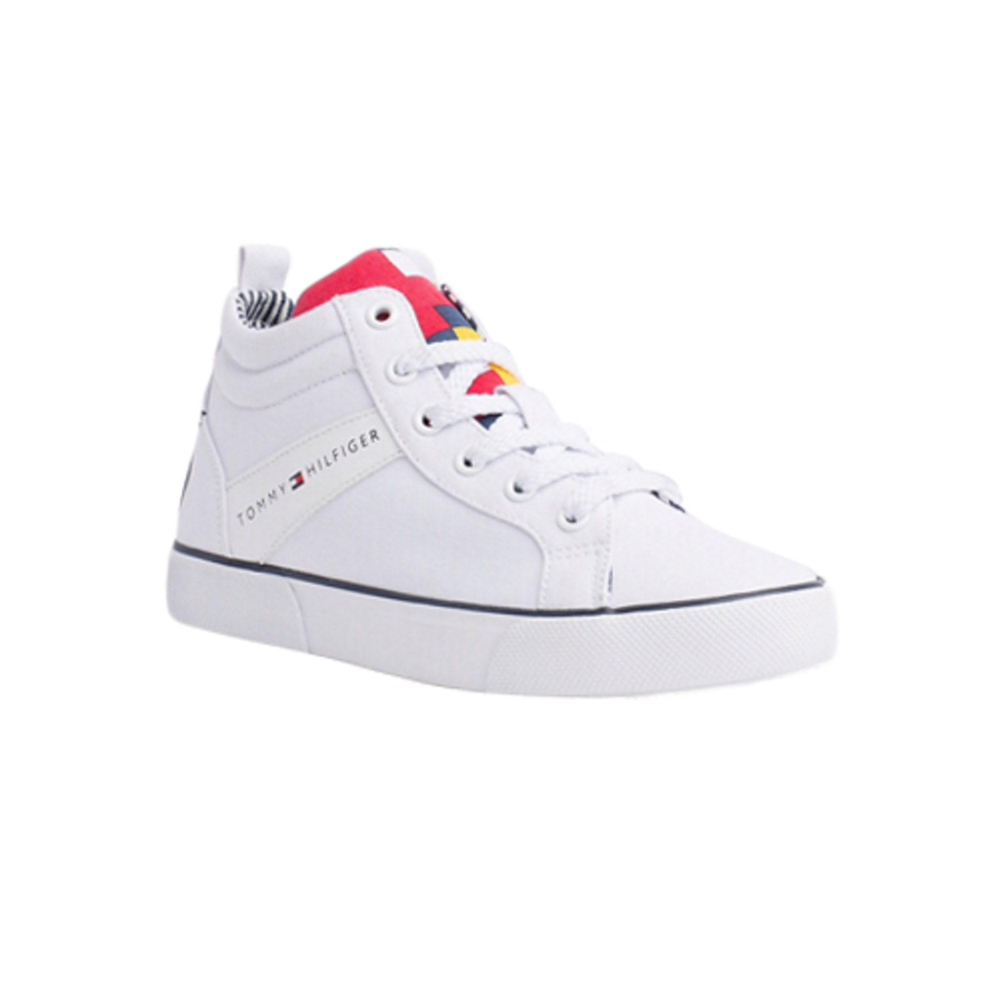 Chaussures de sport TOMMY HILFIGER Blanc, blanc cassé, écru