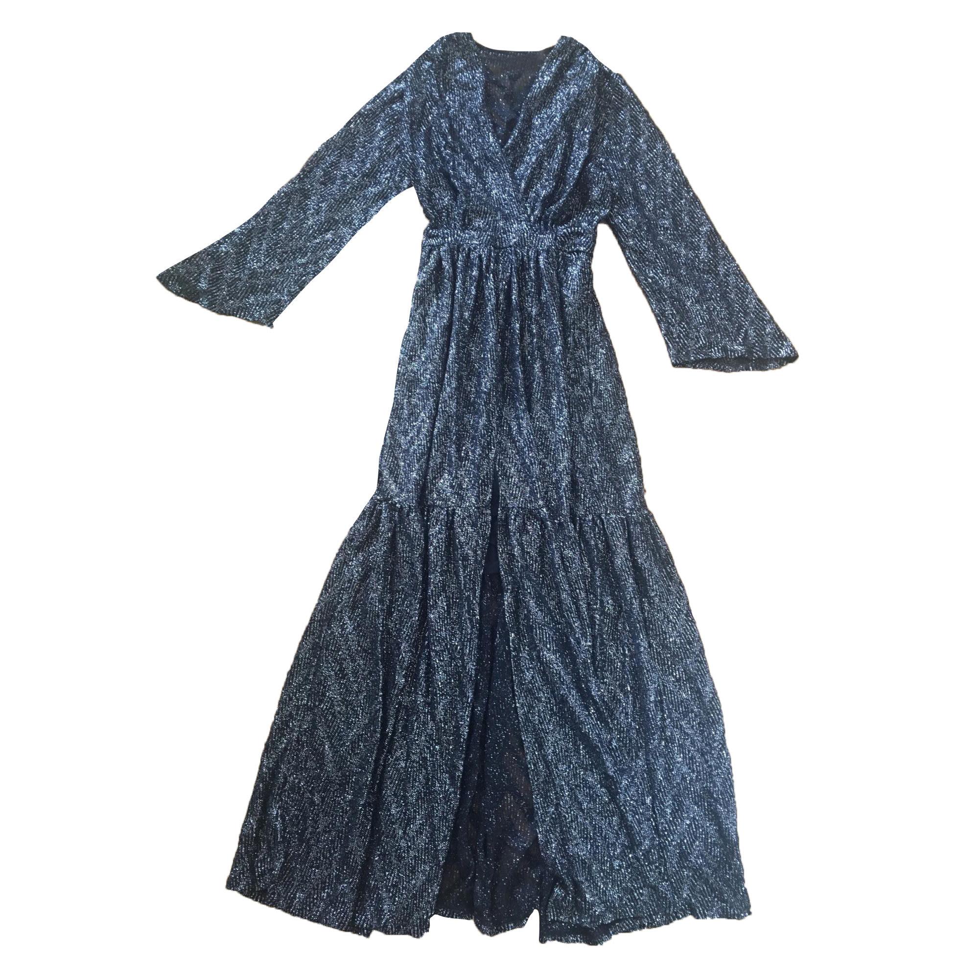 Maxi Dress BA&SH Noire argent