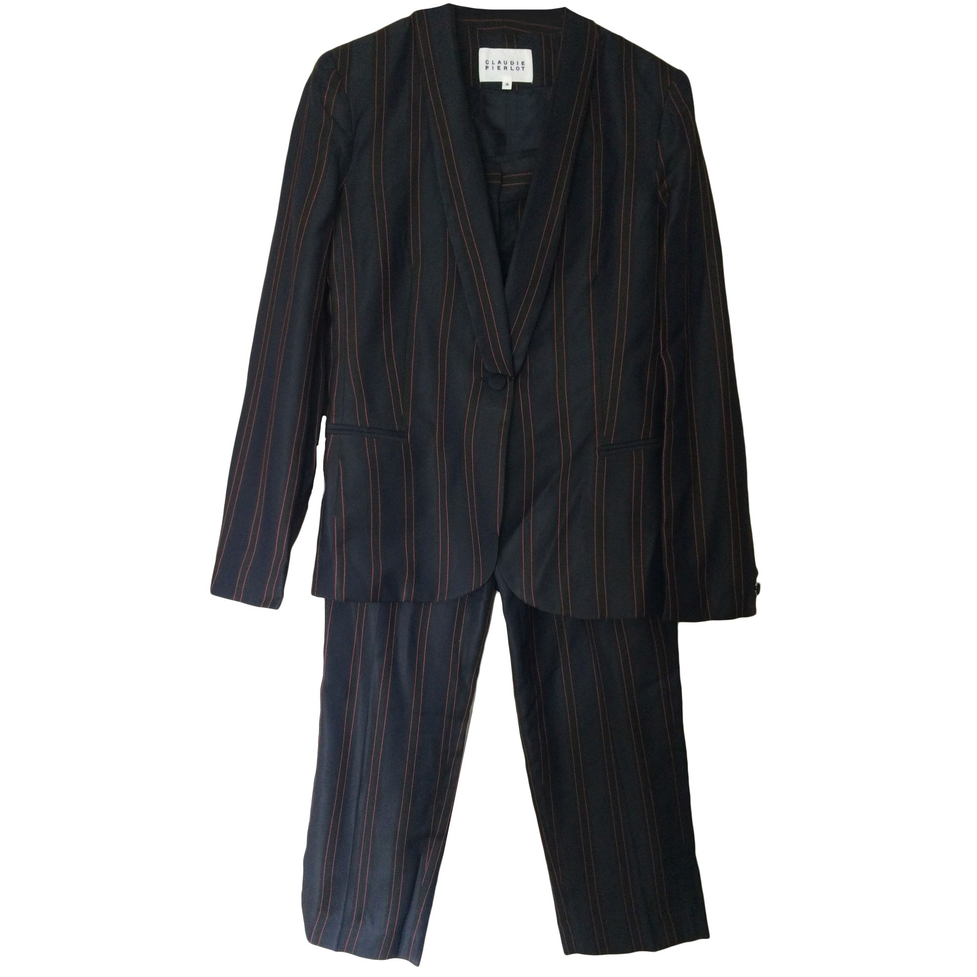 Tailleur pantalon CLAUDIE PIERLOT Prune