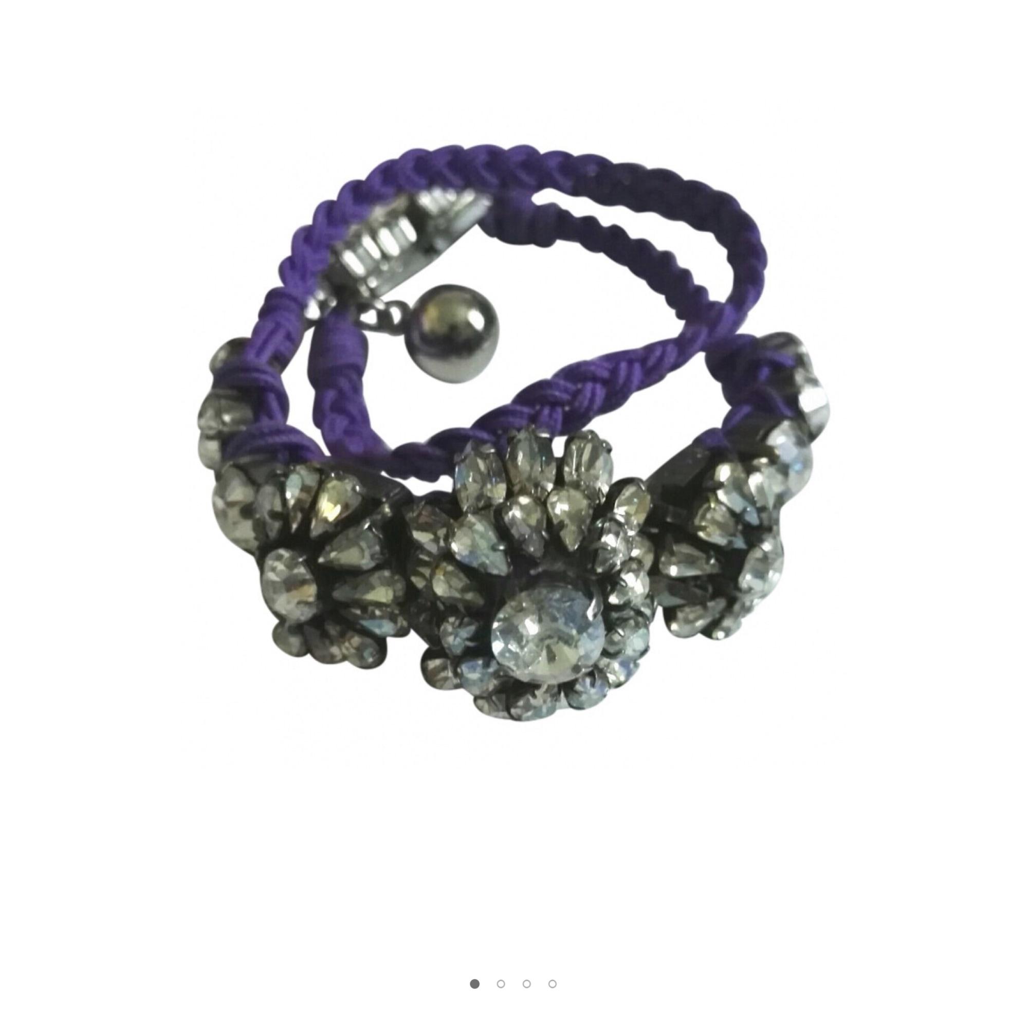Bracelet SHOUROUK acier violet