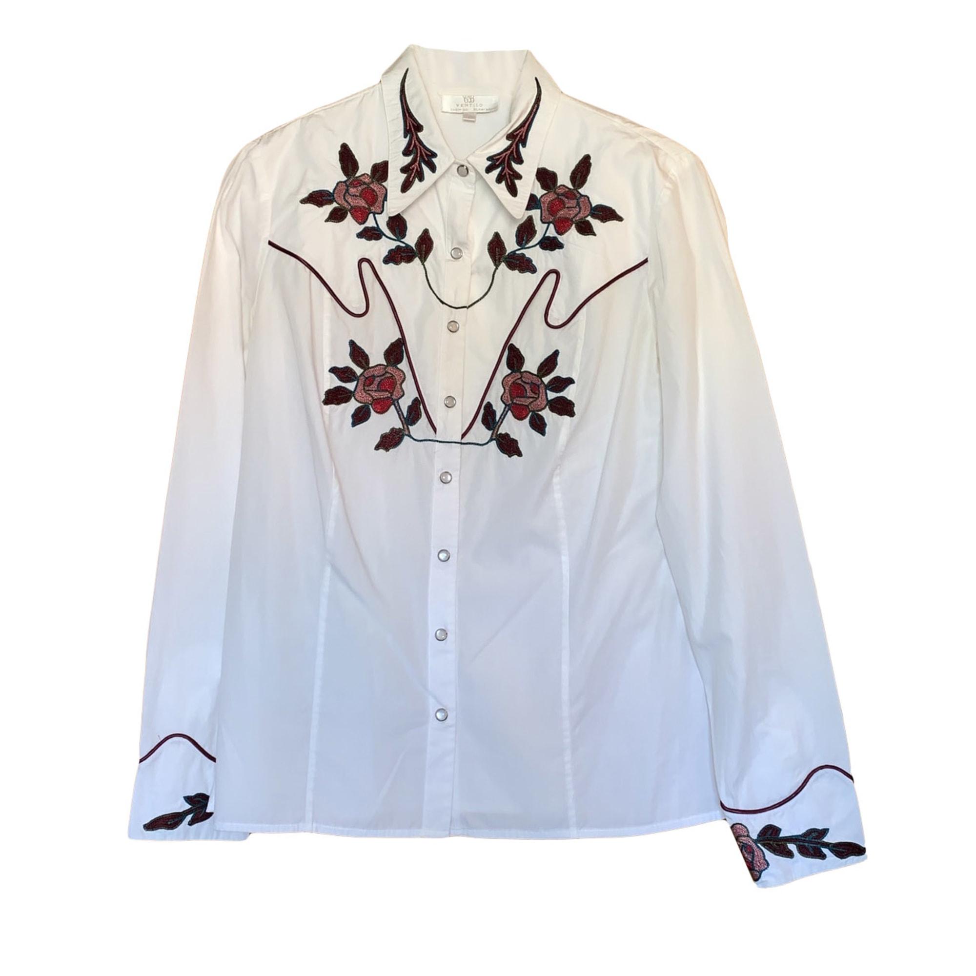 Shirt ARMAND VENTILO White, off-white, ecru