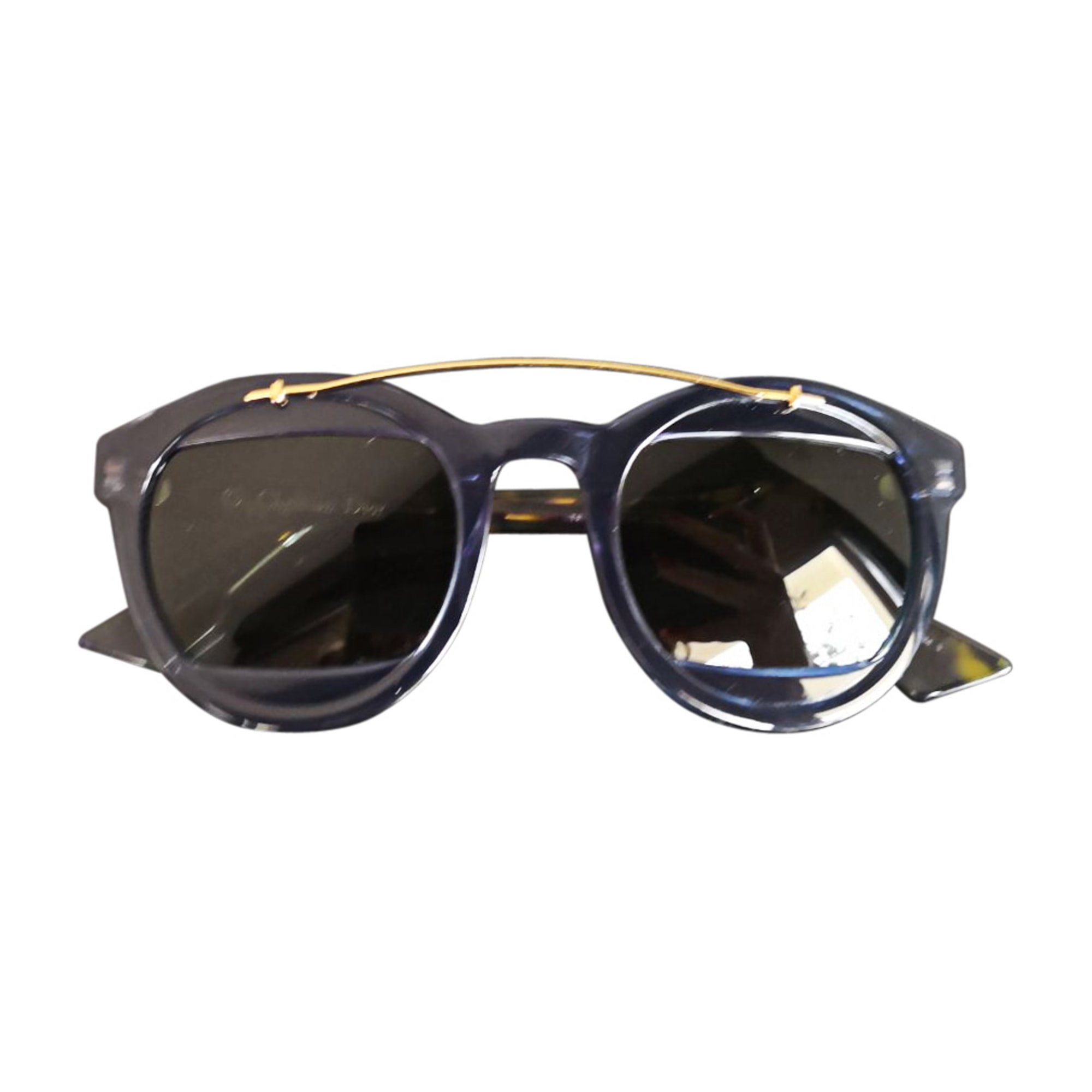 Sonnenbrille DIOR Blau, marineblau, türkisblau