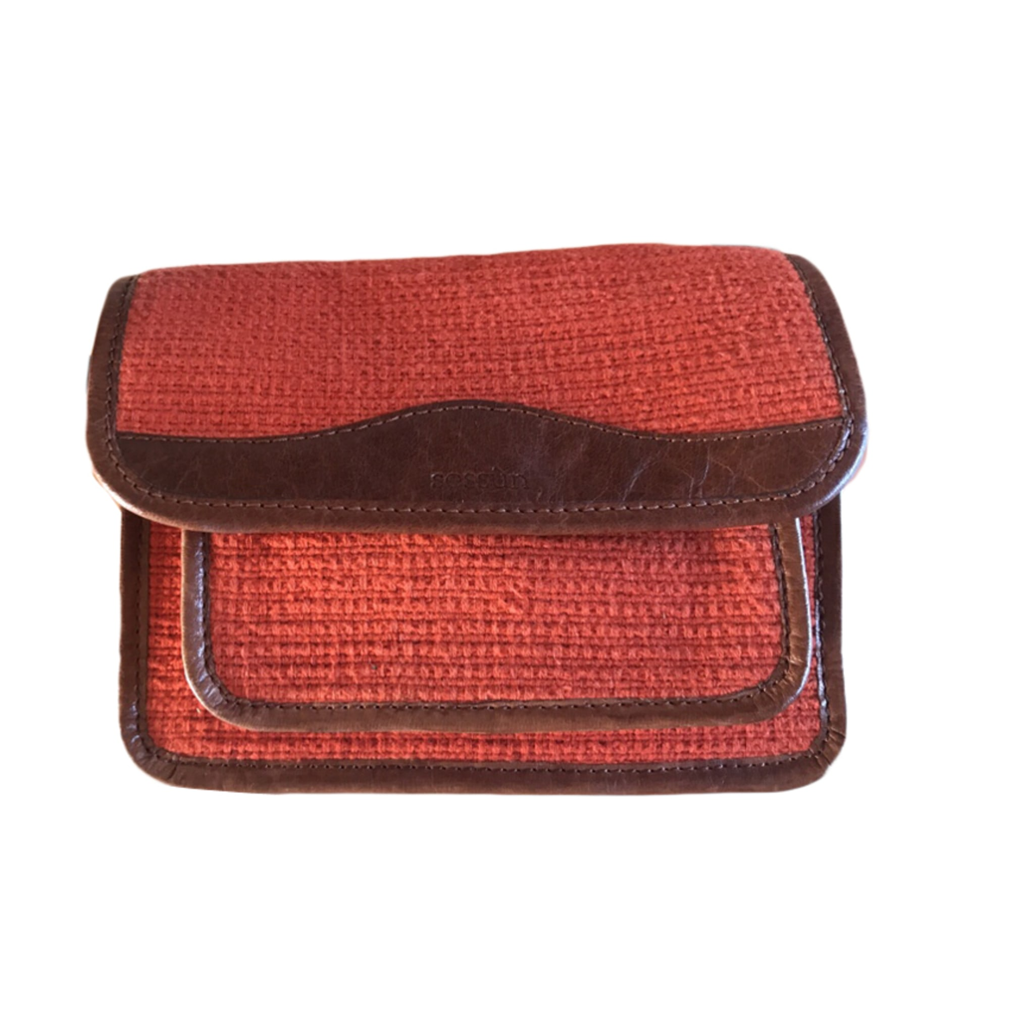Sac à main en tissu SESSUN coton orange
