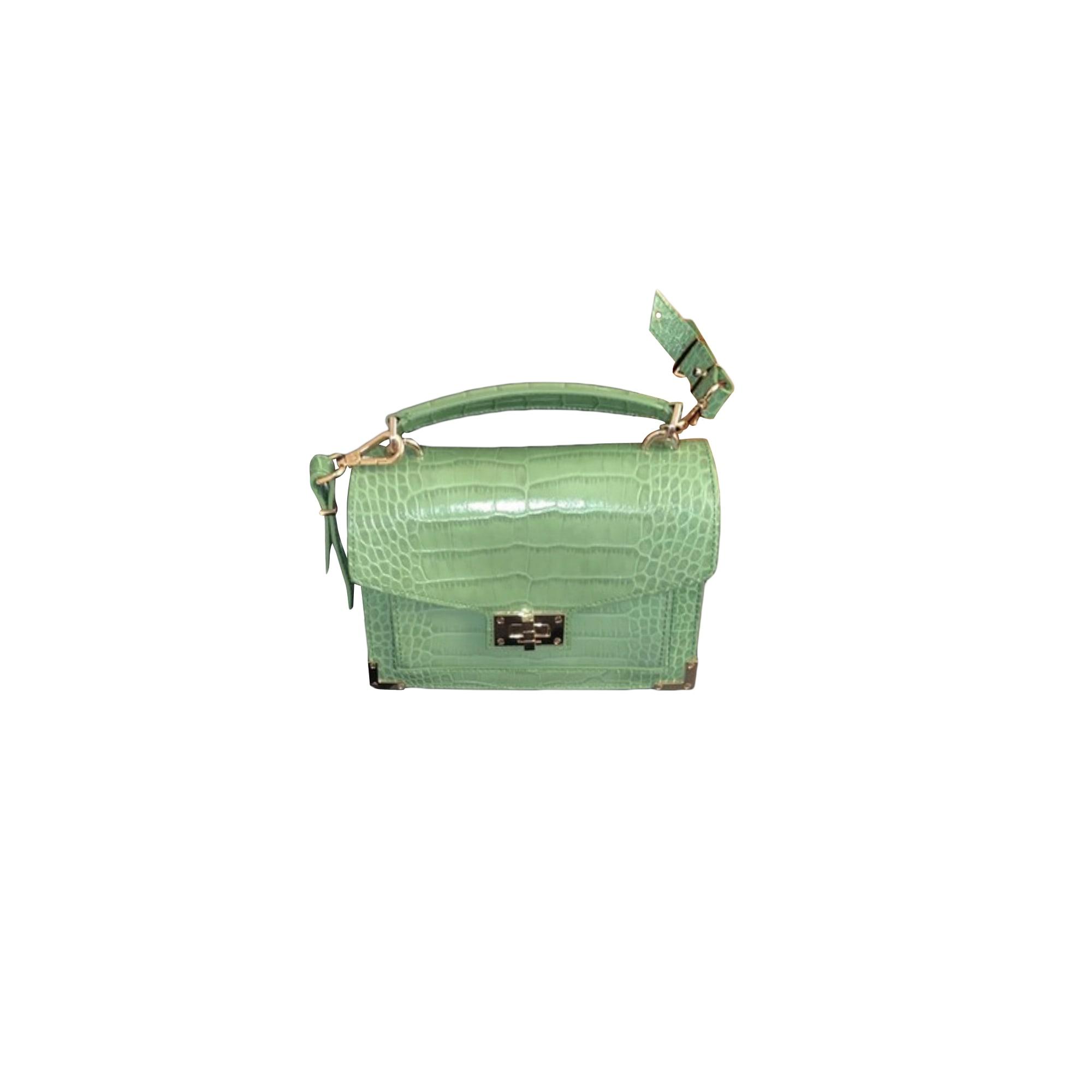 Leather Shoulder Bag THE KOOPLES Green