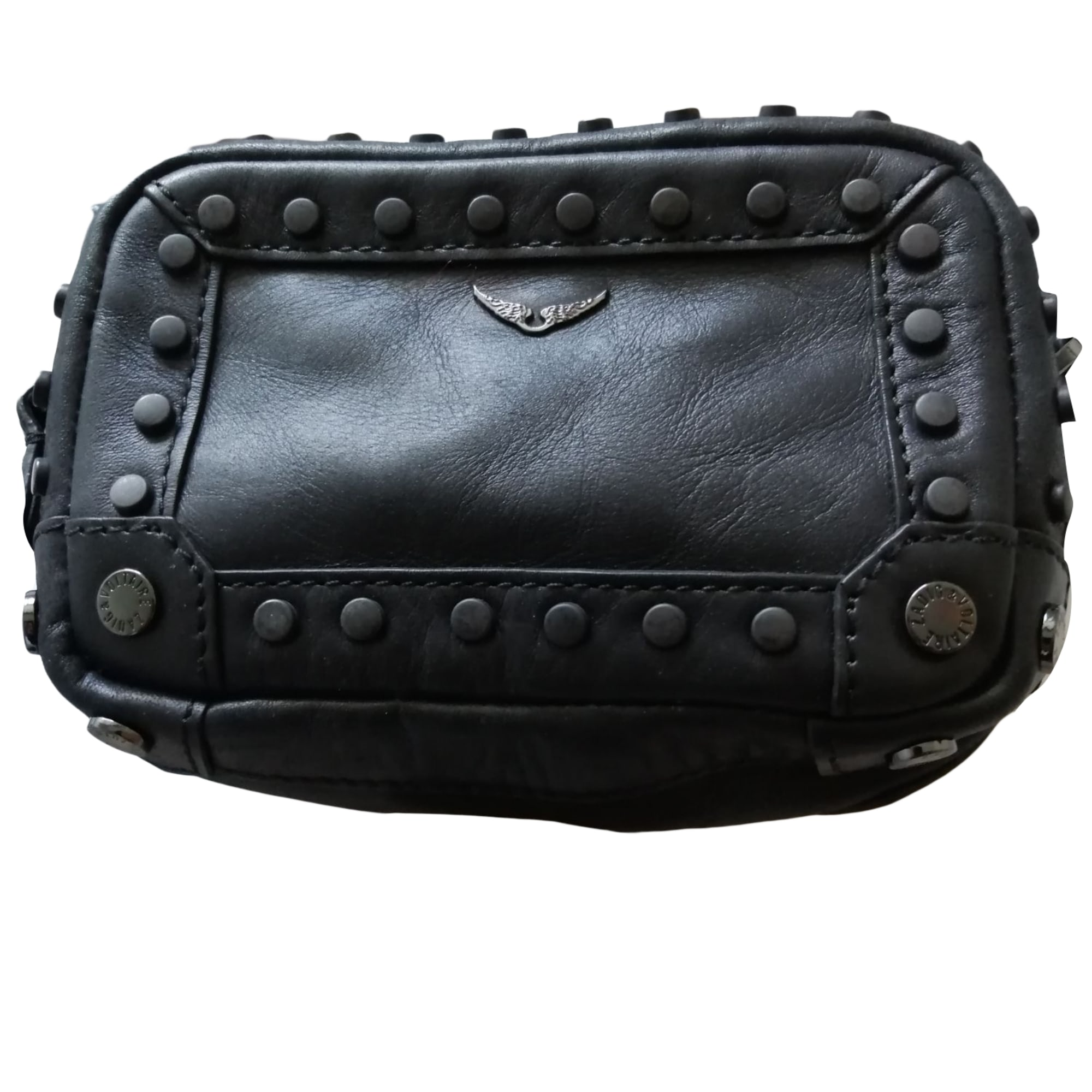 Leather Shoulder Bag ZADIG & VOLTAIRE Black