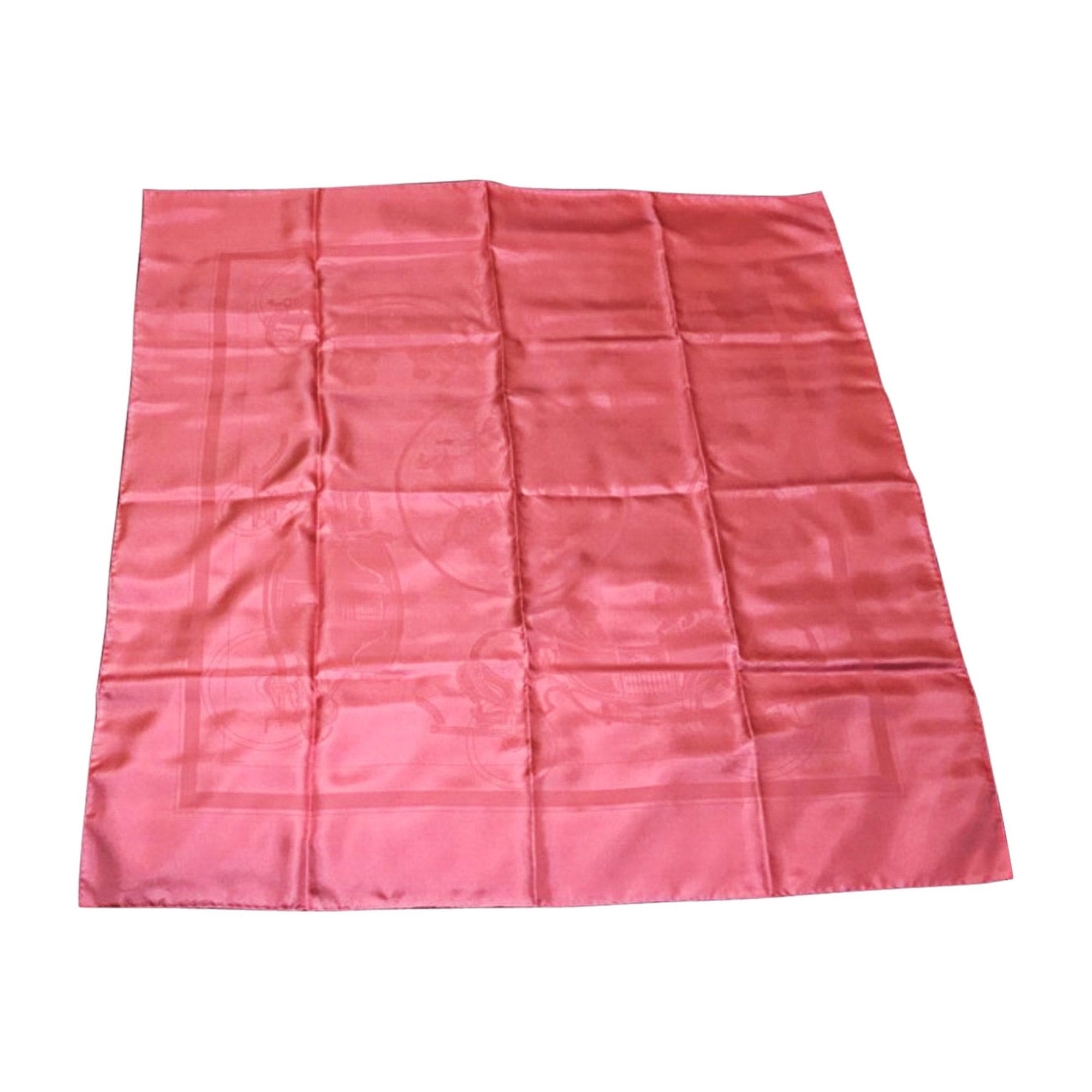 Tuch, Schal HERMÈS Pink,  altrosa