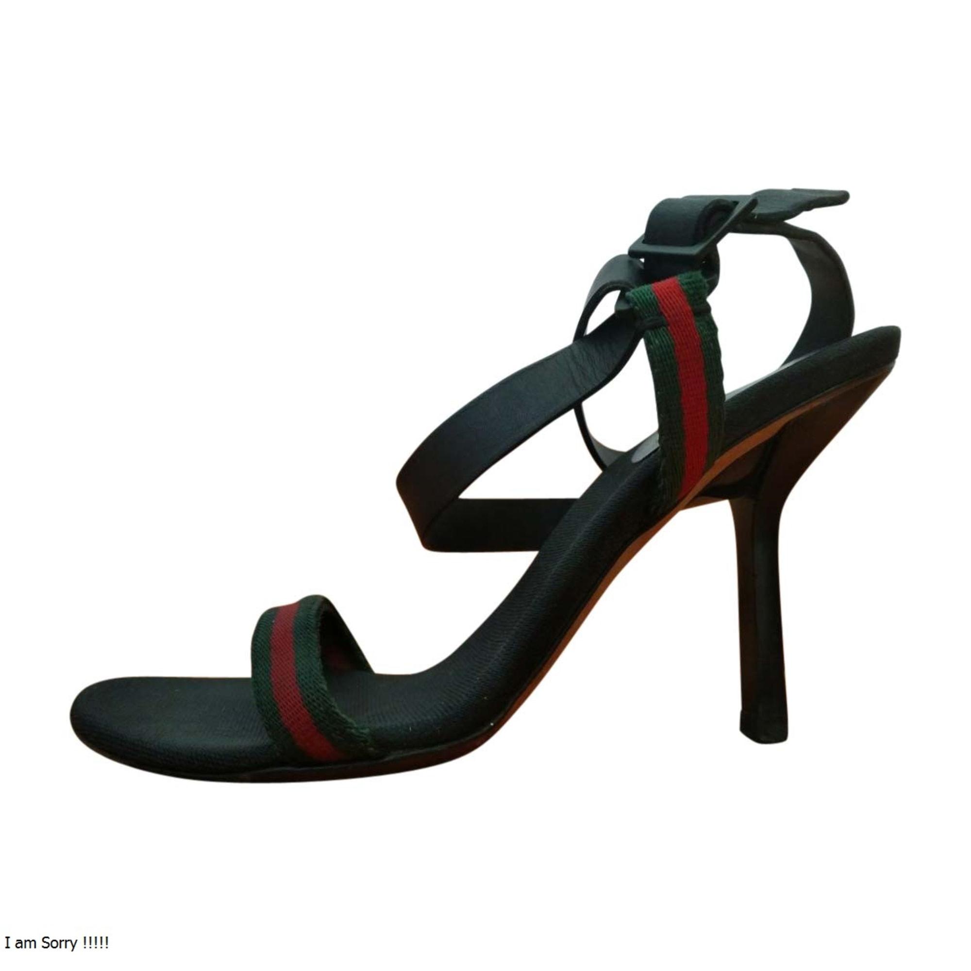 Heeled Sandals GUCCI Multicolor