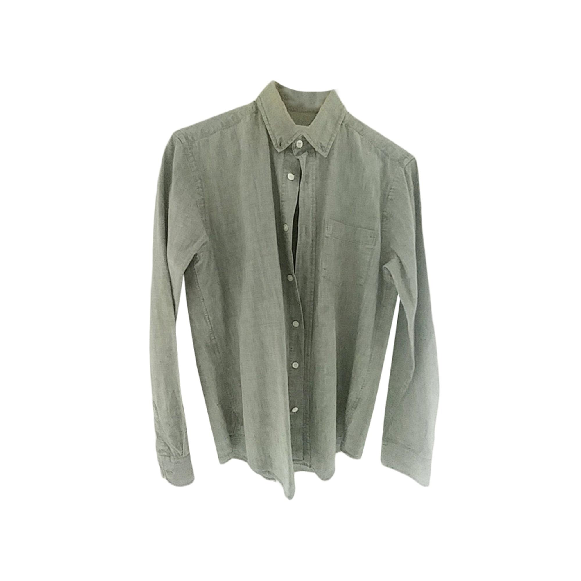 Shirt DRAPEAU NOIR Gray, charcoal