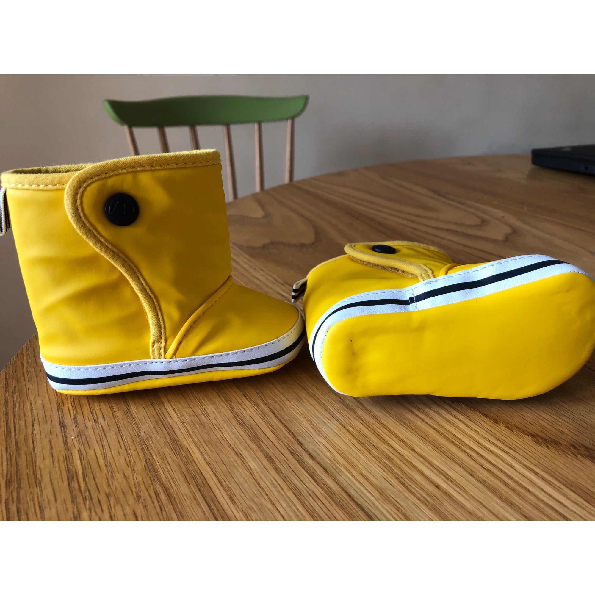 Ankle Boots PETIT BATEAU Yellow